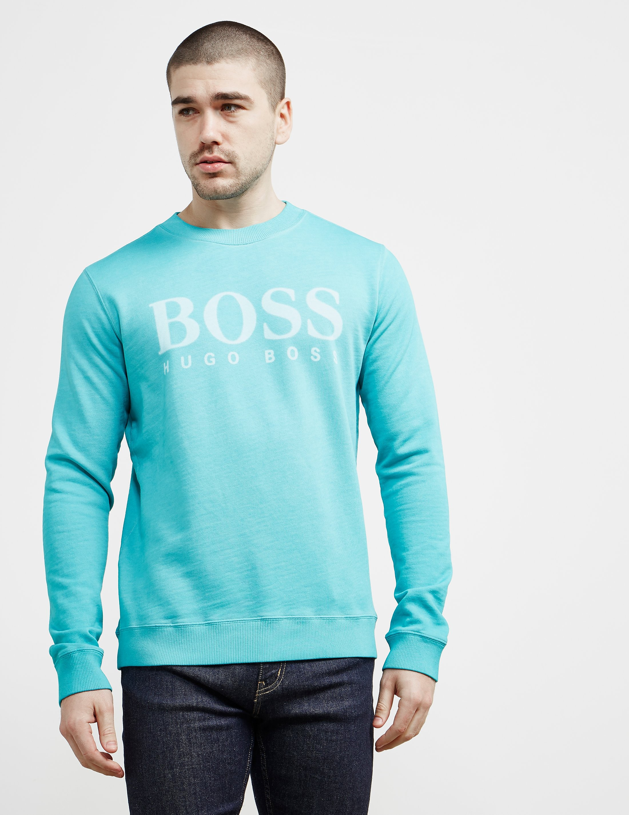 BOSS Orange Wallker Logo Sweatshirt