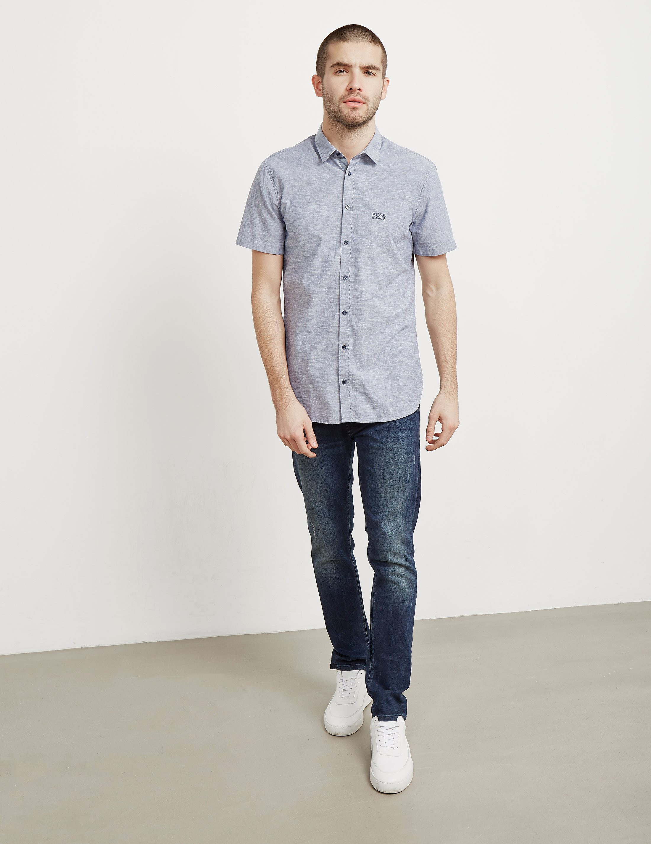 BOSS Orange Cattitude Short Sleeve Shirt