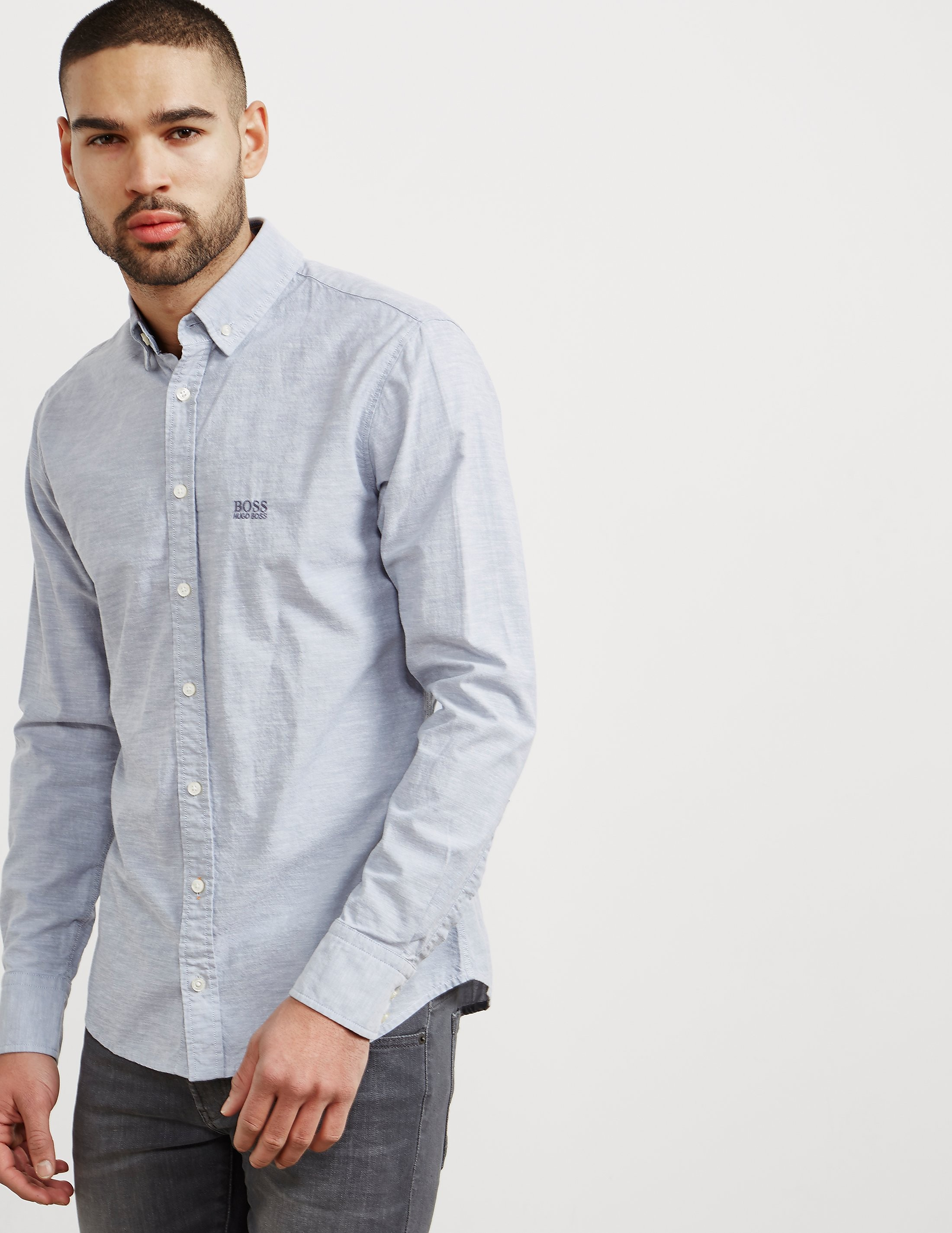 BOSS E-Preppy Long Sleeve Shirt
