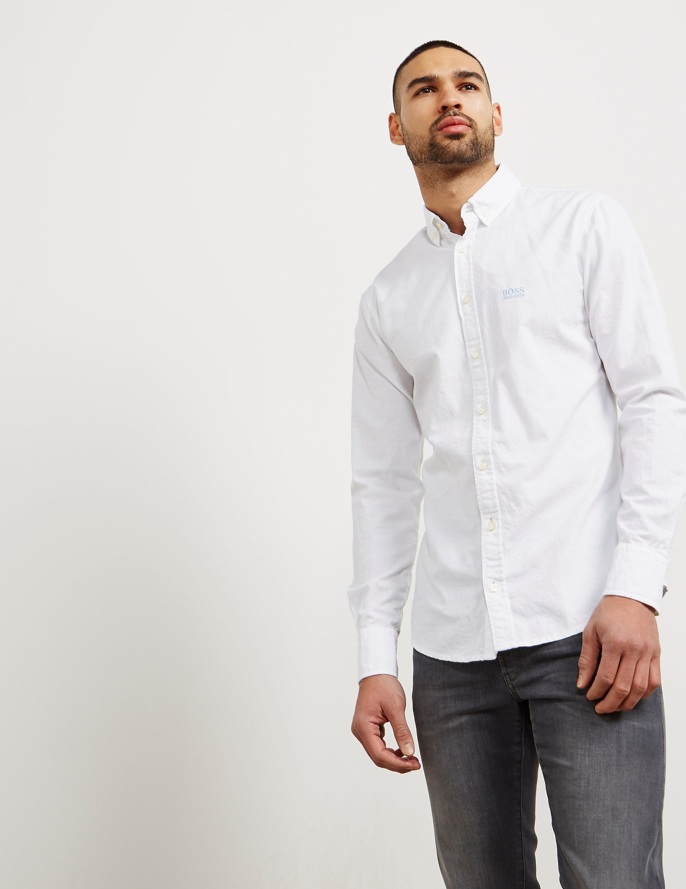 BOSS E-Preppy Long Sleeve Shirt