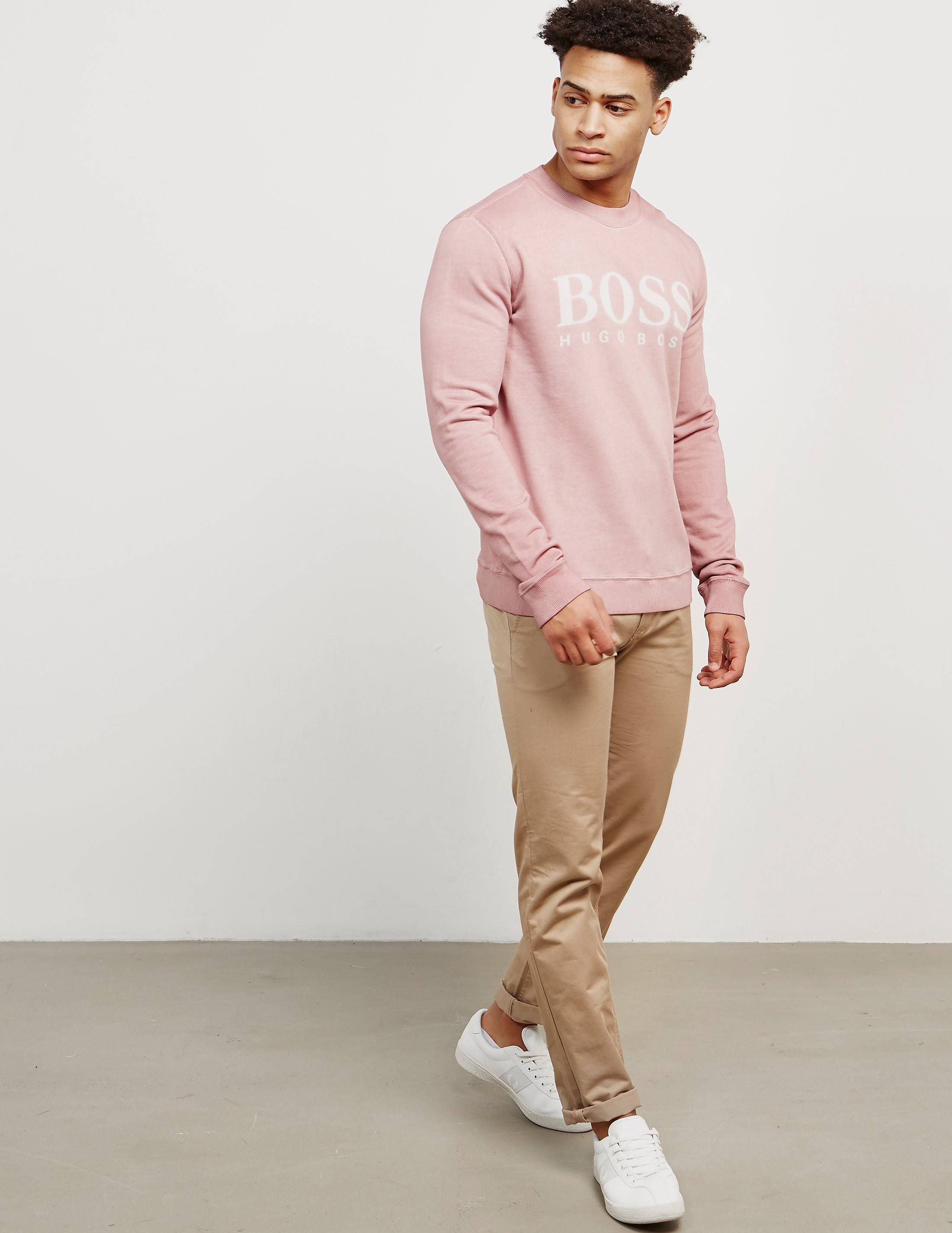BOSS Wallker Logo Sweatshirt