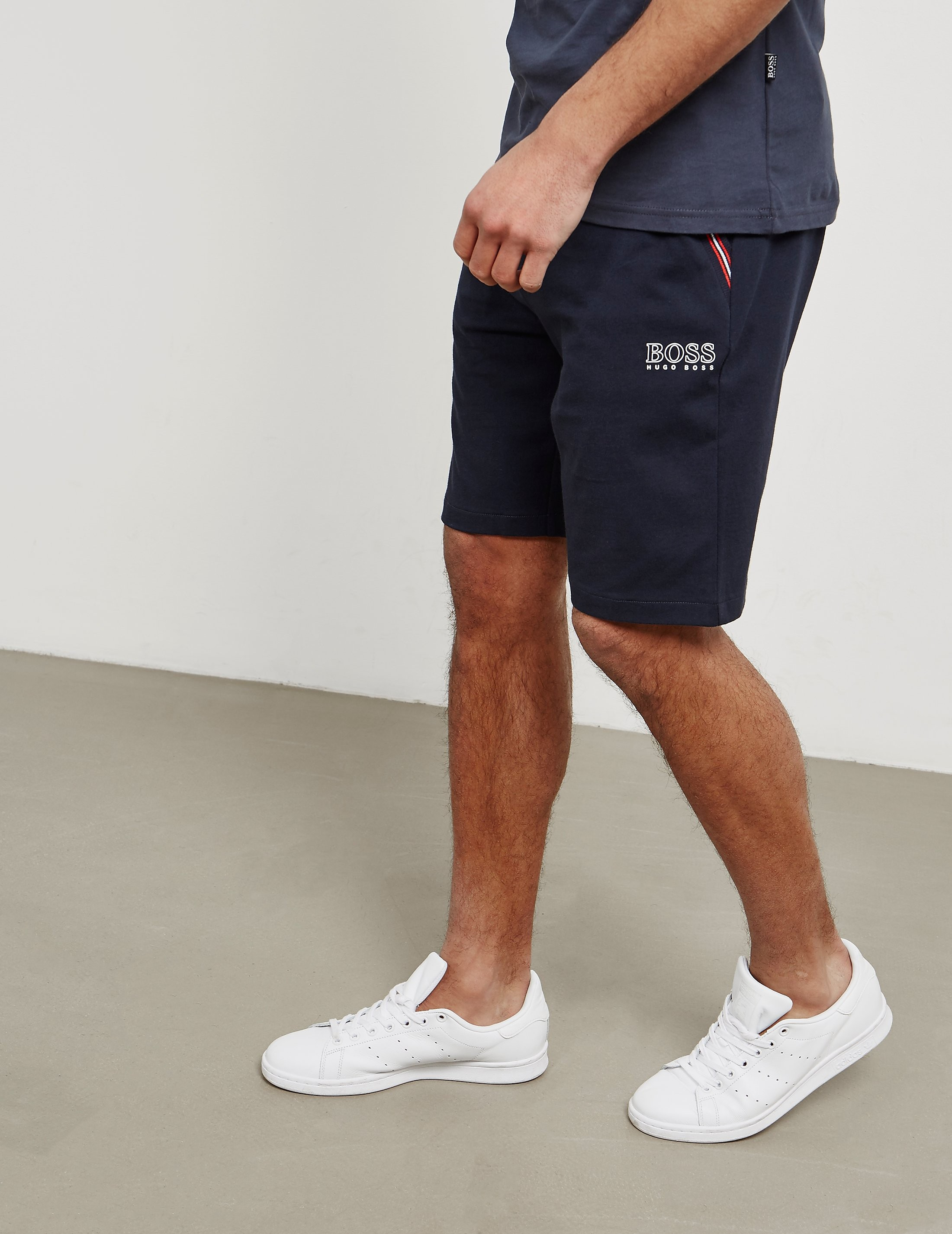 BOSS Trim Fleece Shorts