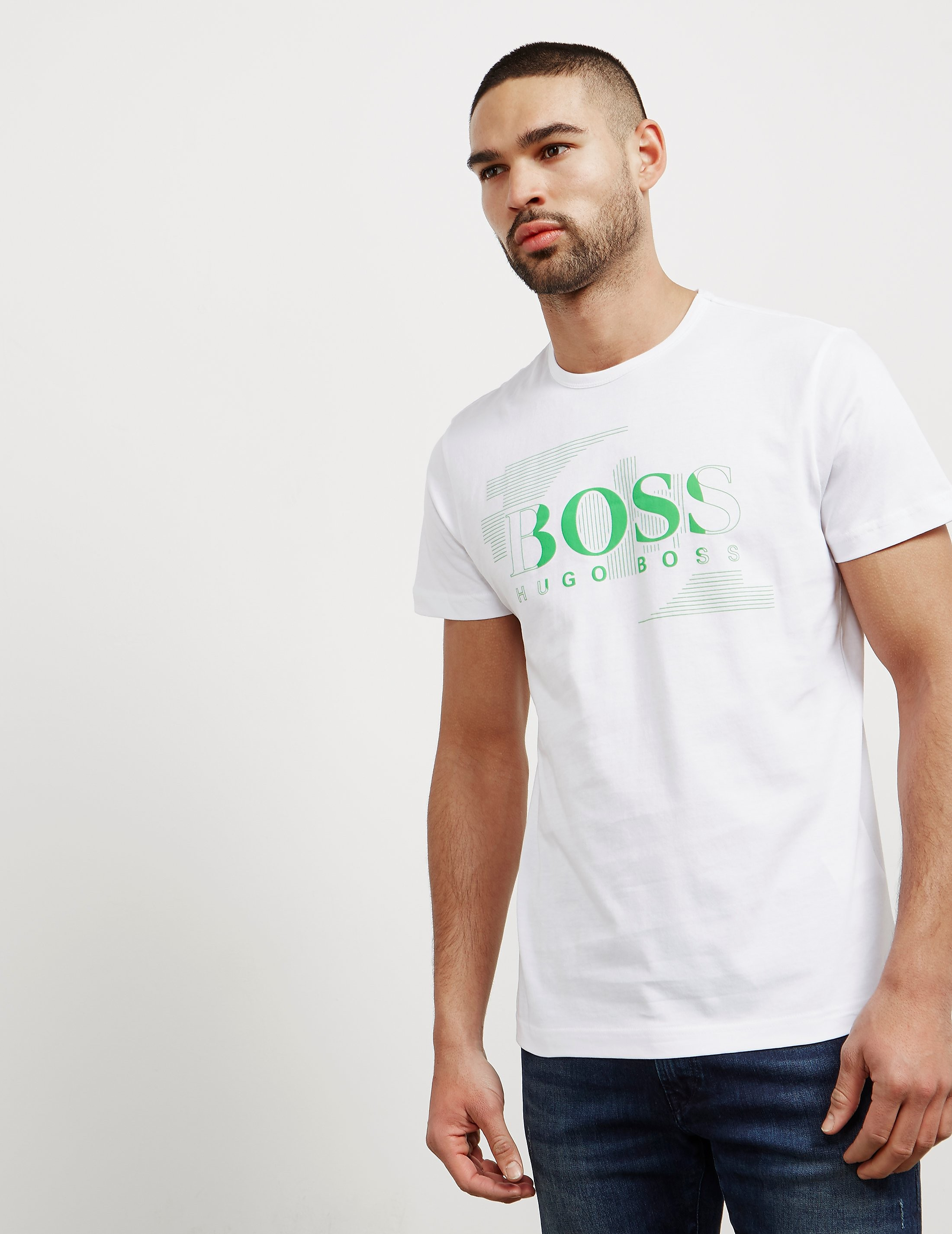 BOSS Green Line Logo Short Sleeve T-Shirt