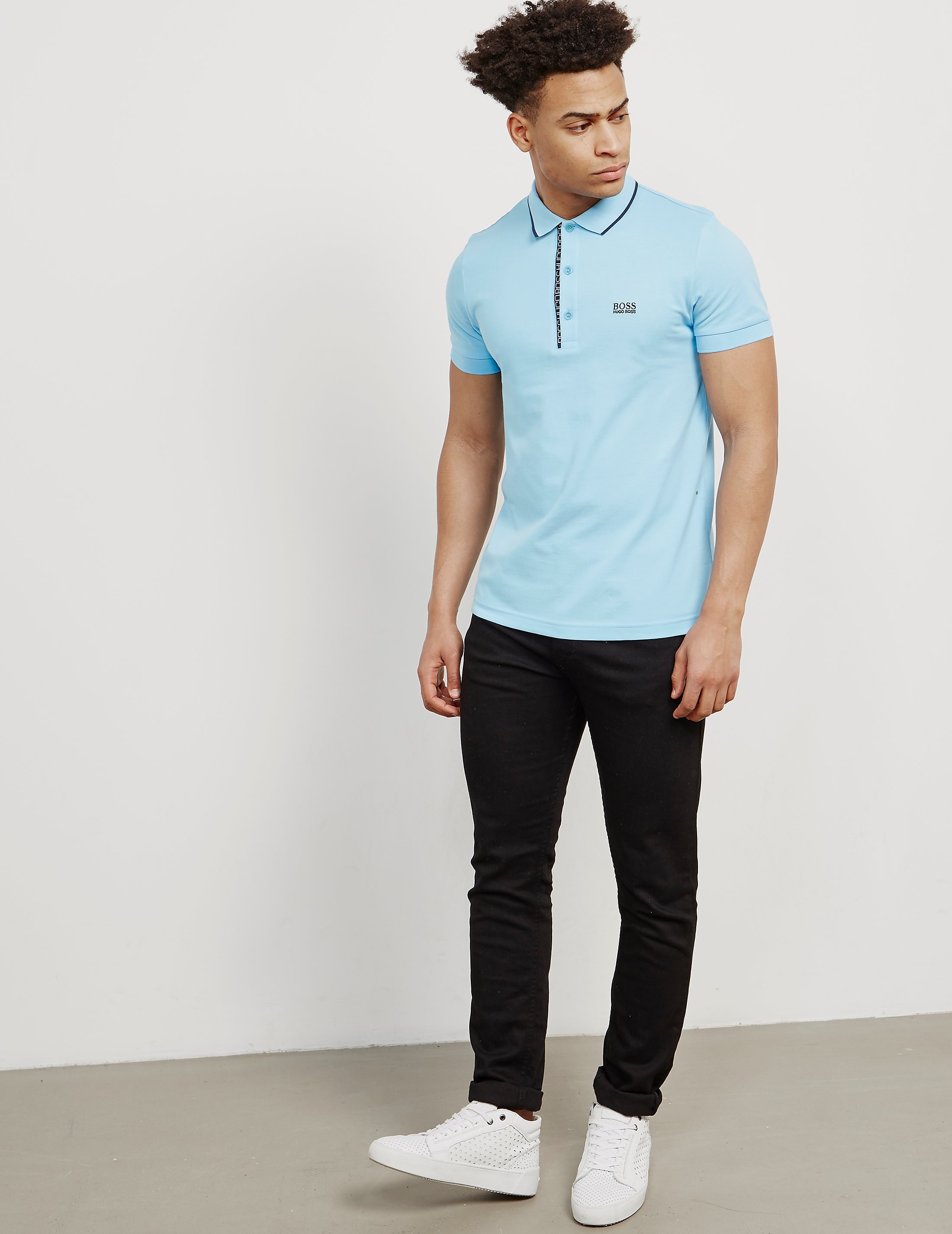 BOSS Green Paul 4 Short Sleeve Polo Shirt