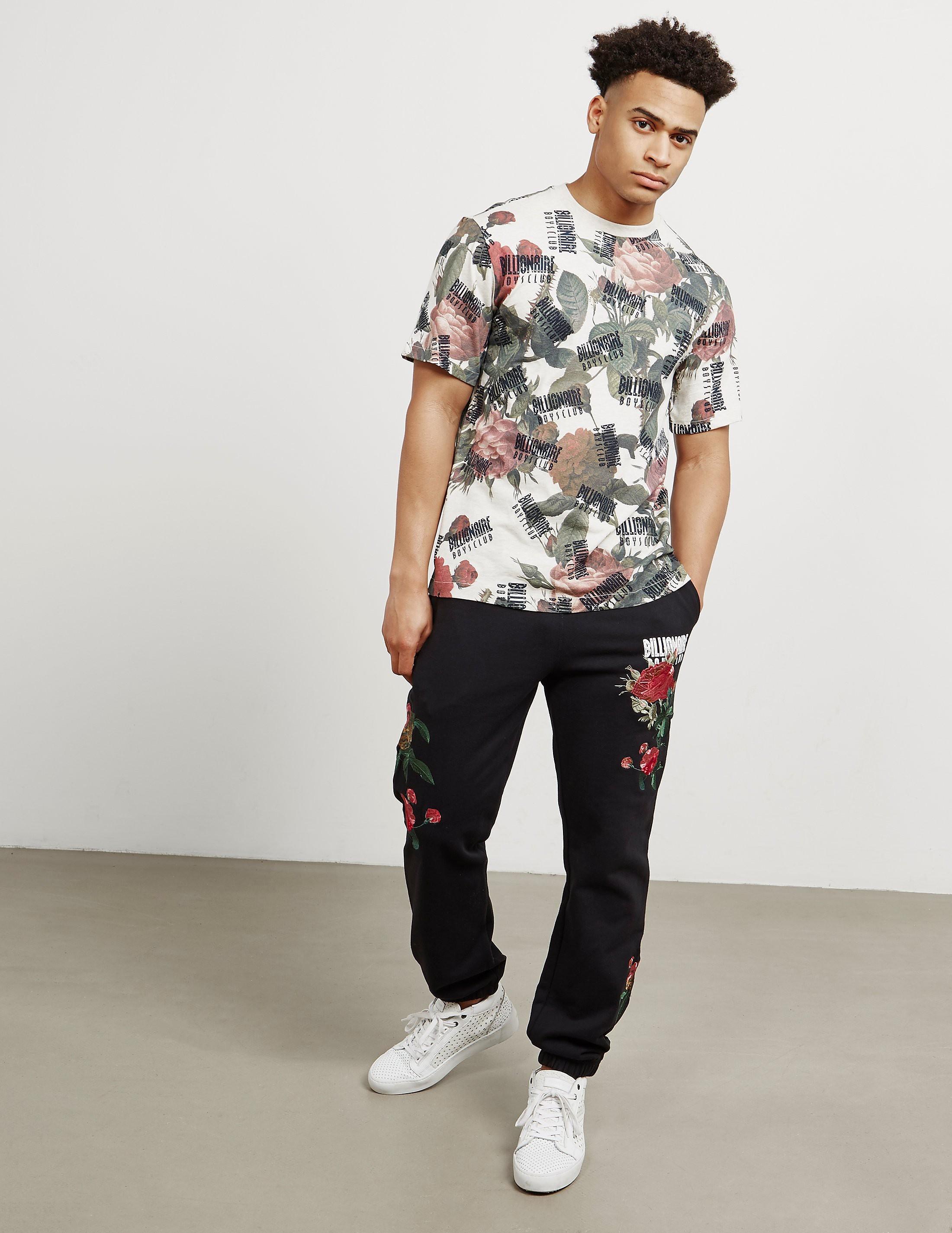 Billionaire Boys Club Floral Print Short Sleeve T-Shirt