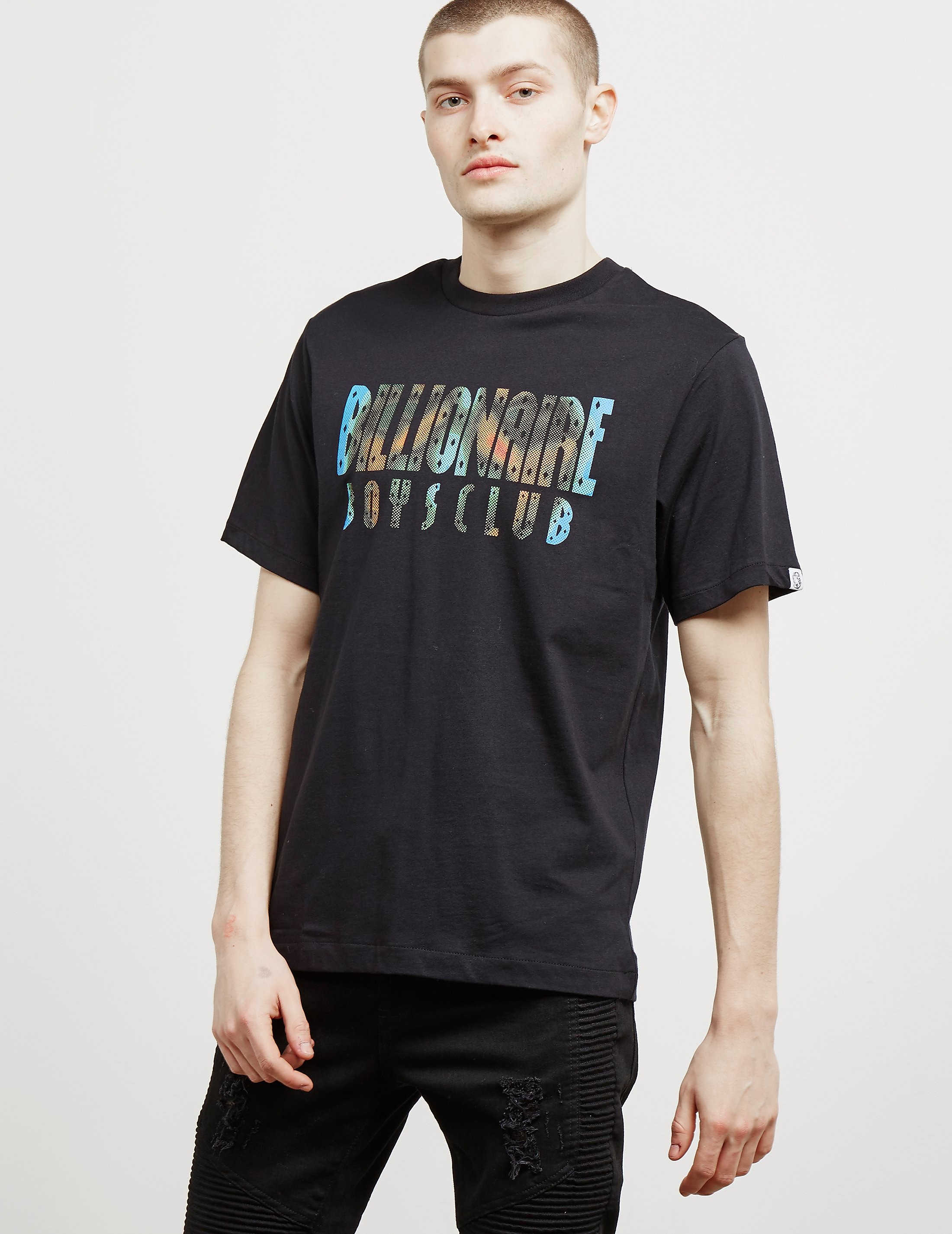 Billionaire Boys Club Scan Logo Short Sleeve T-Shirt