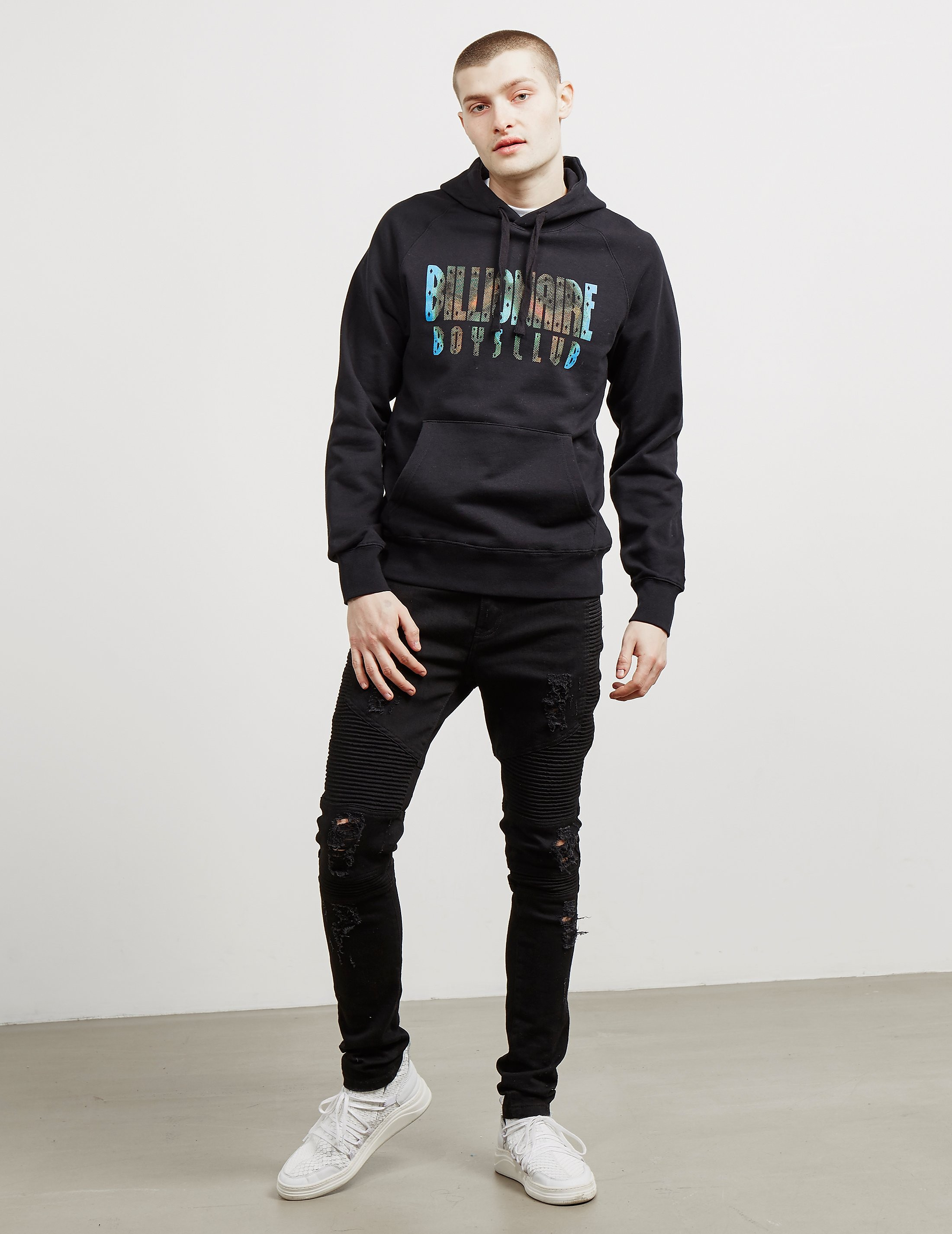 Billionaire Boys Club Scan Logo Hoodie