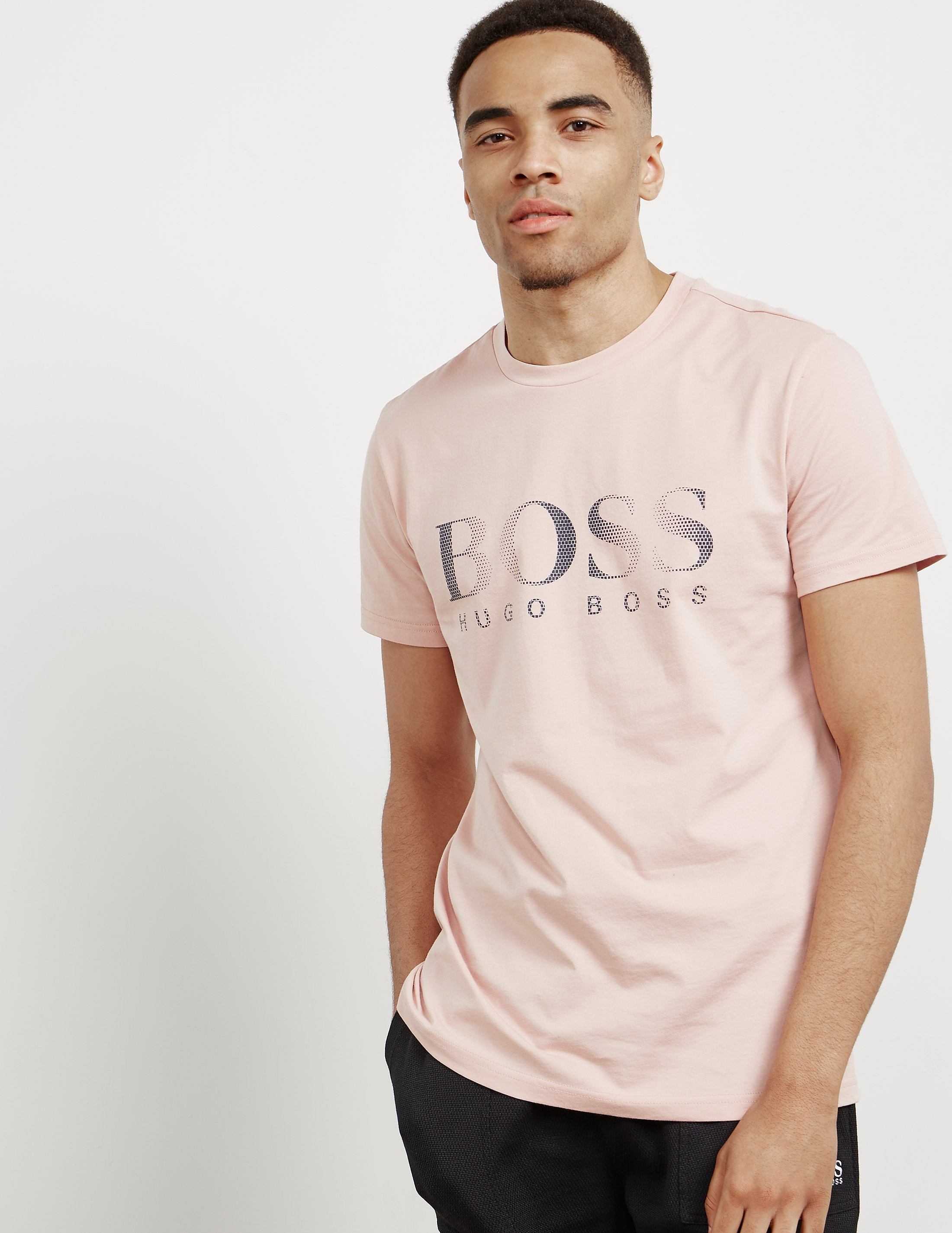 BOSS Logo Crew Short Sleeve T-Shirt