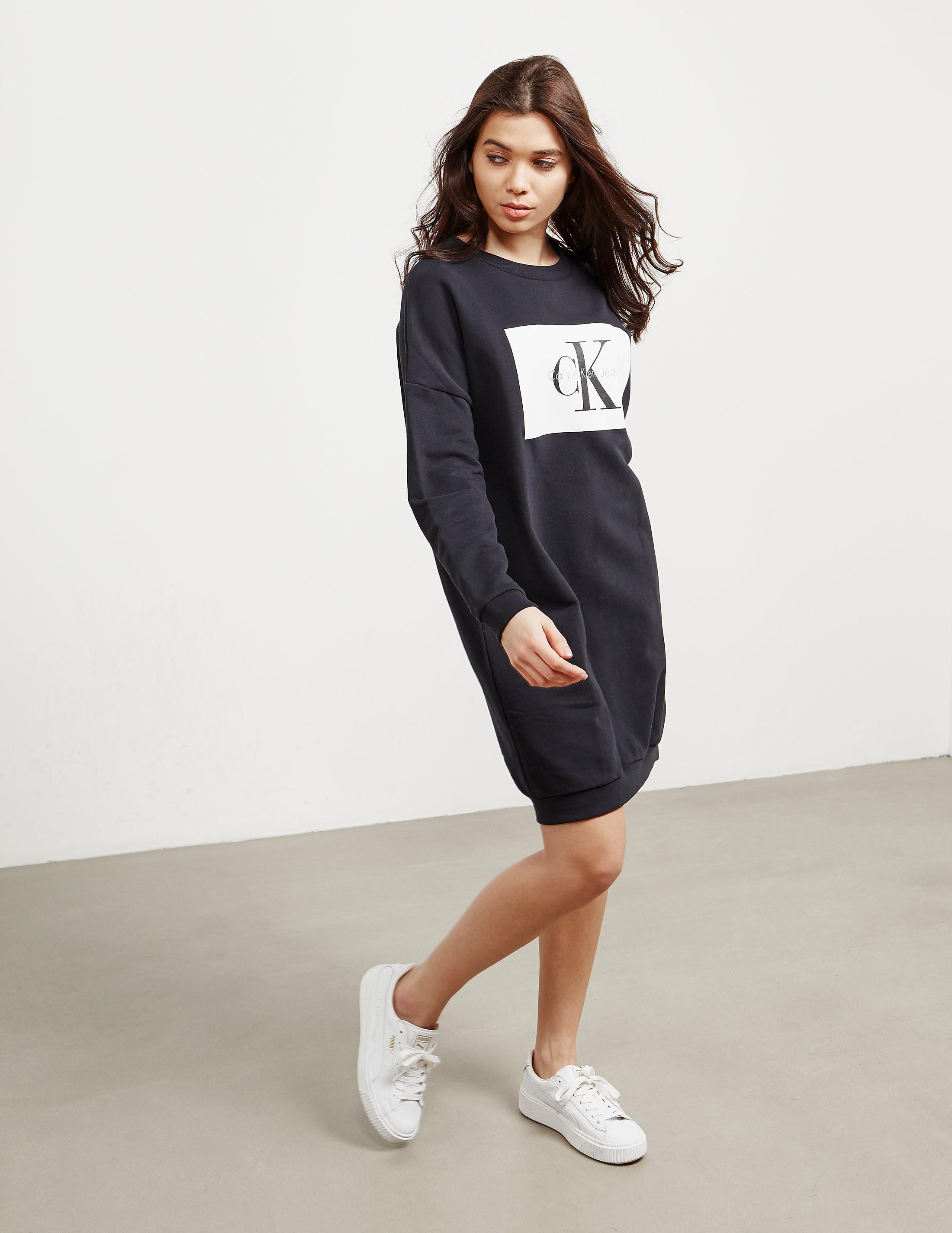 Calvin Klein Dena True Icon Sweatshirt Dress