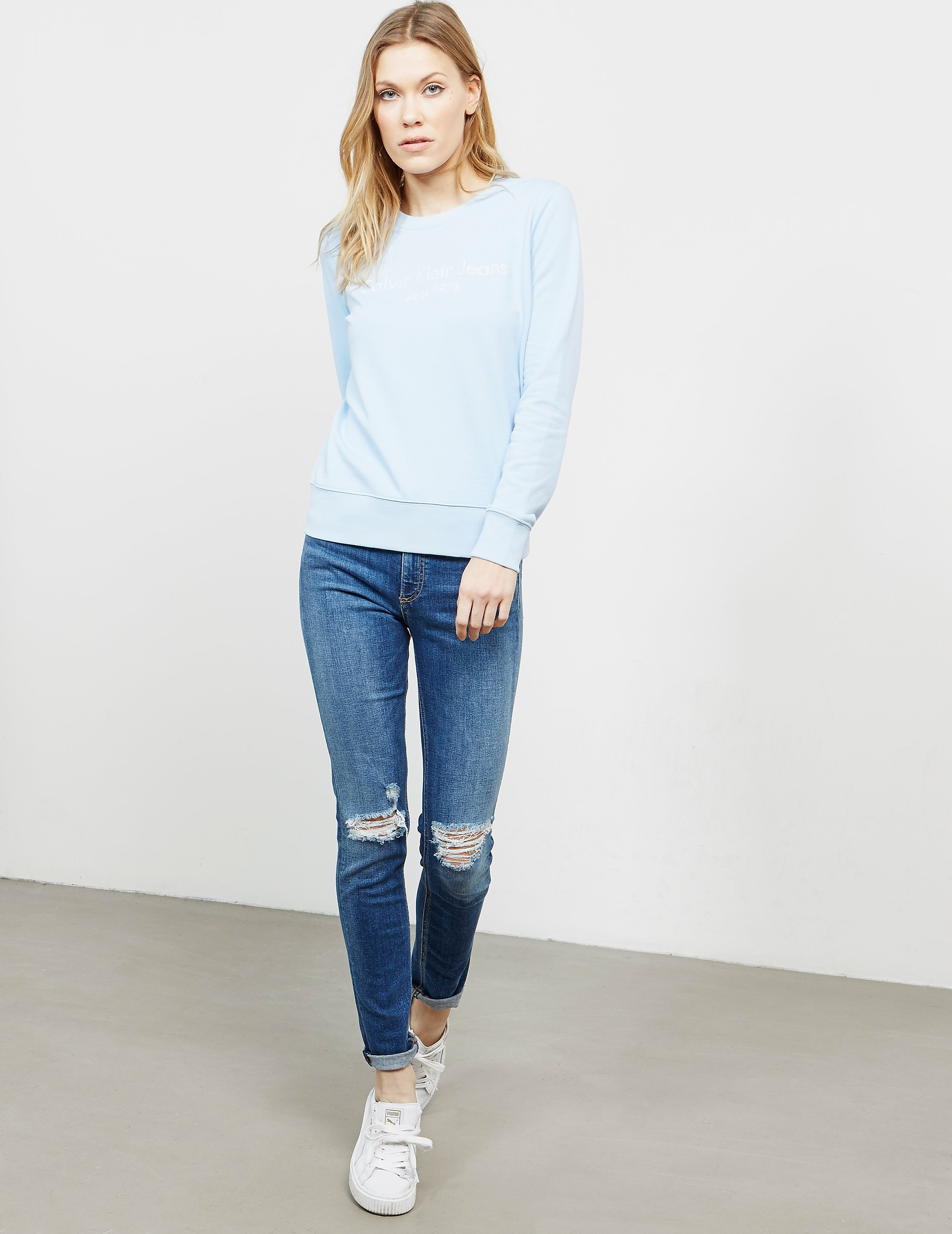 Calvin Klein Halia Crew Sweatshirt