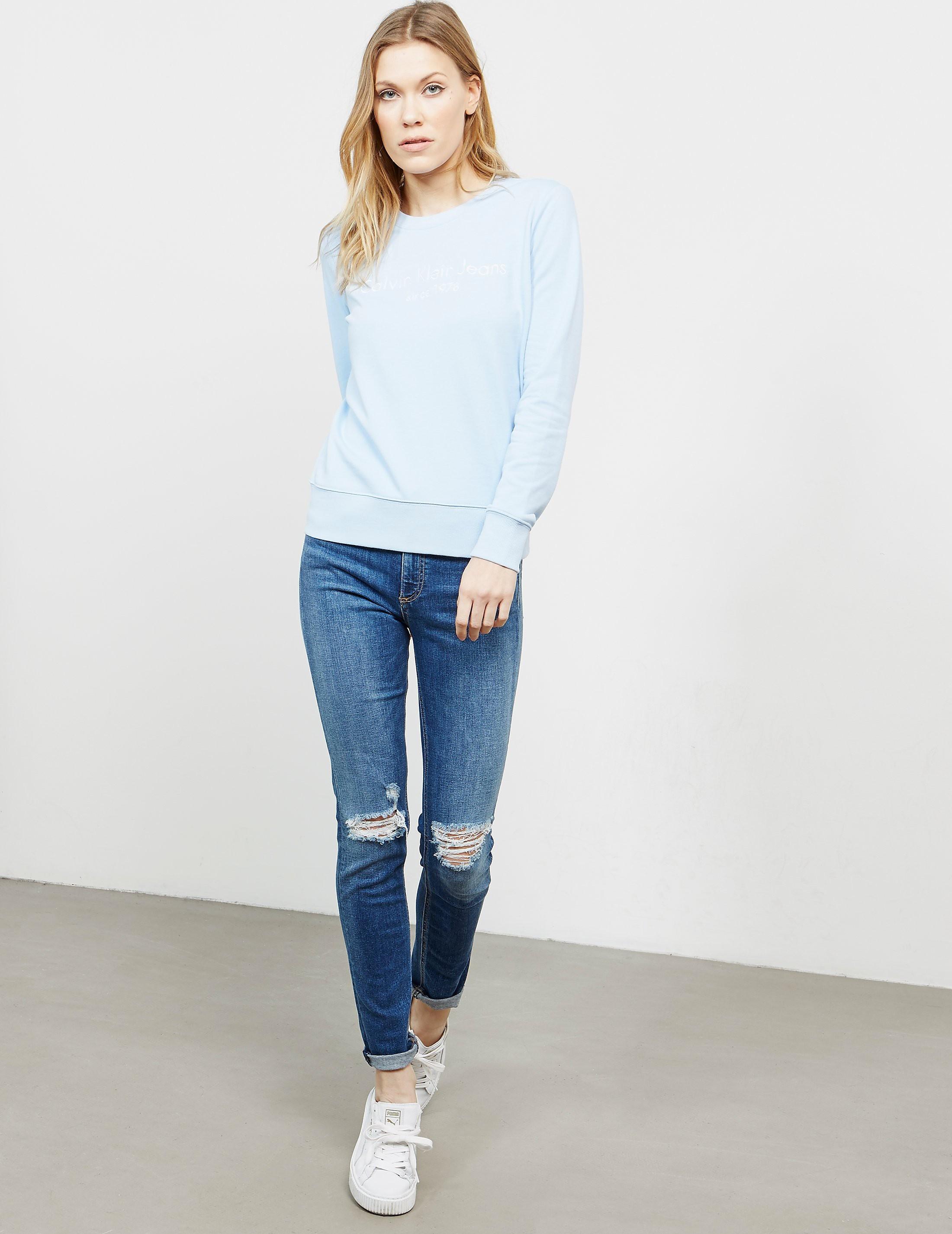 Calvin Klein Halia Crew Sweatshirt - Online Exclusive