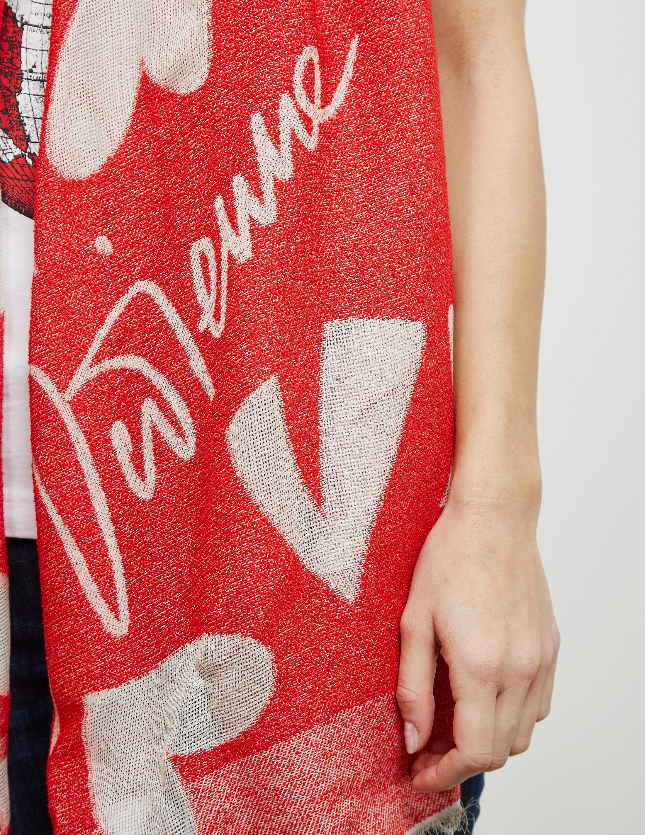 Vivienne Westwood Regaline Heart Scarf