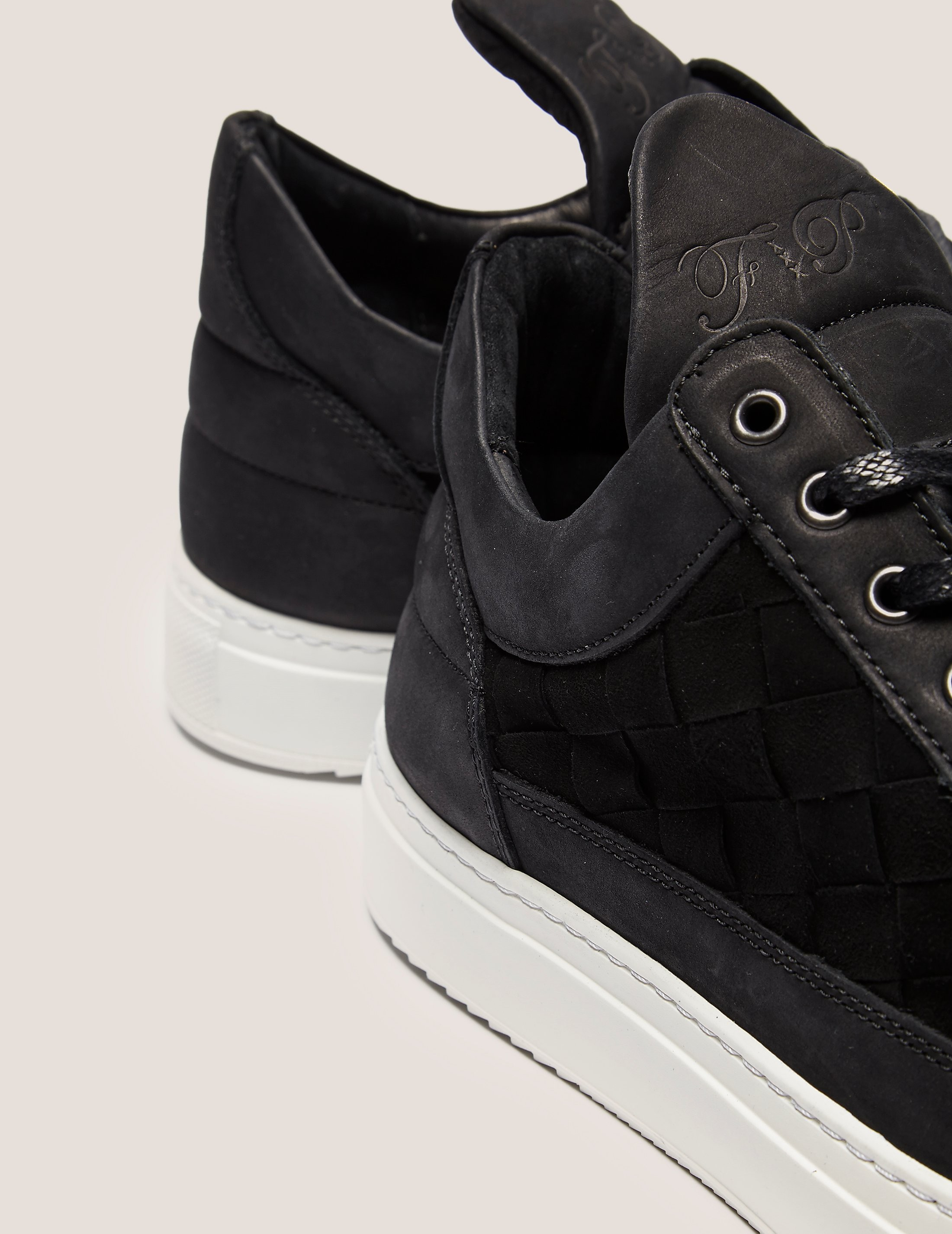 Filling Pieces Low Top Woven Gradient Trainers