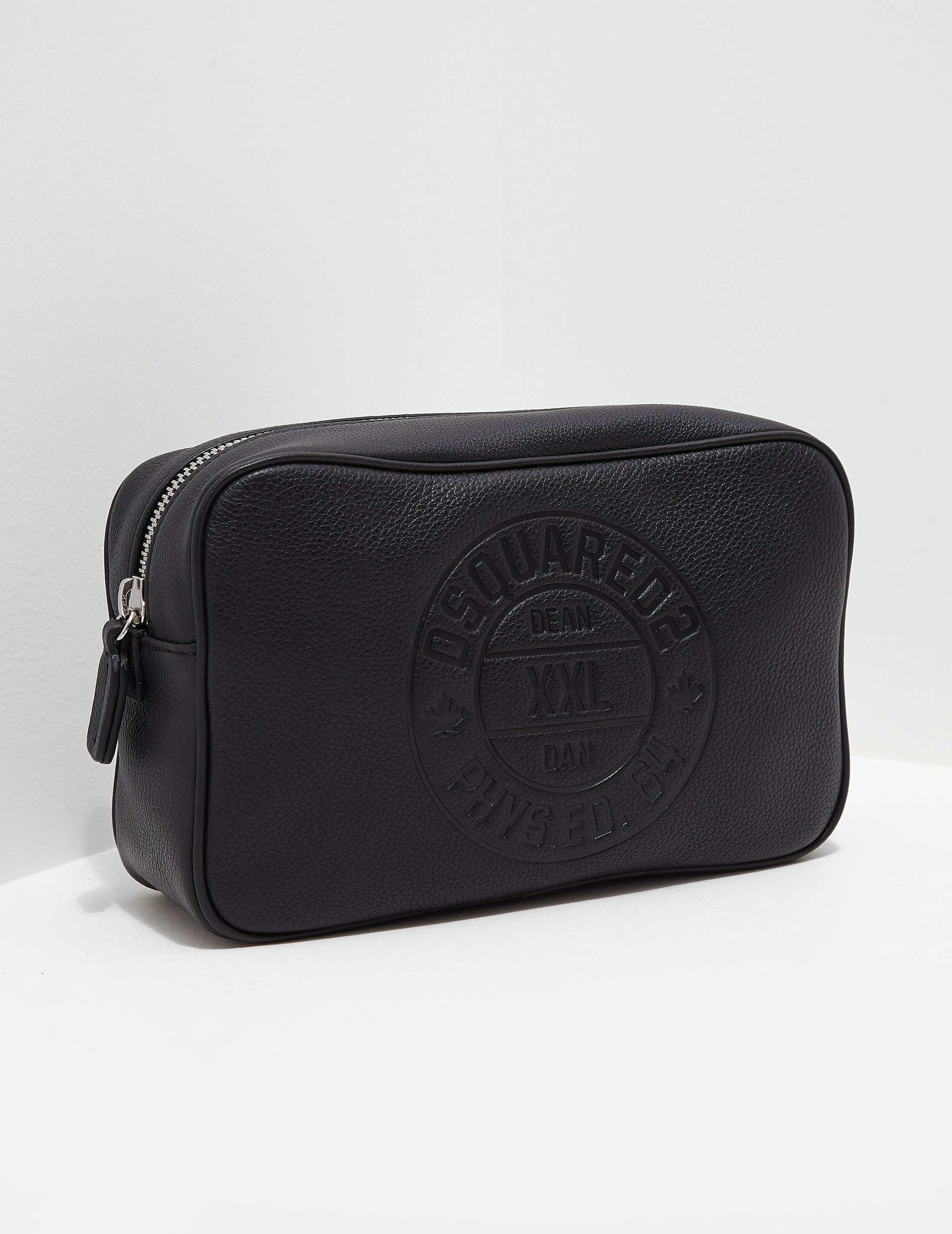 DSQUARED2 Leather Wash Bag