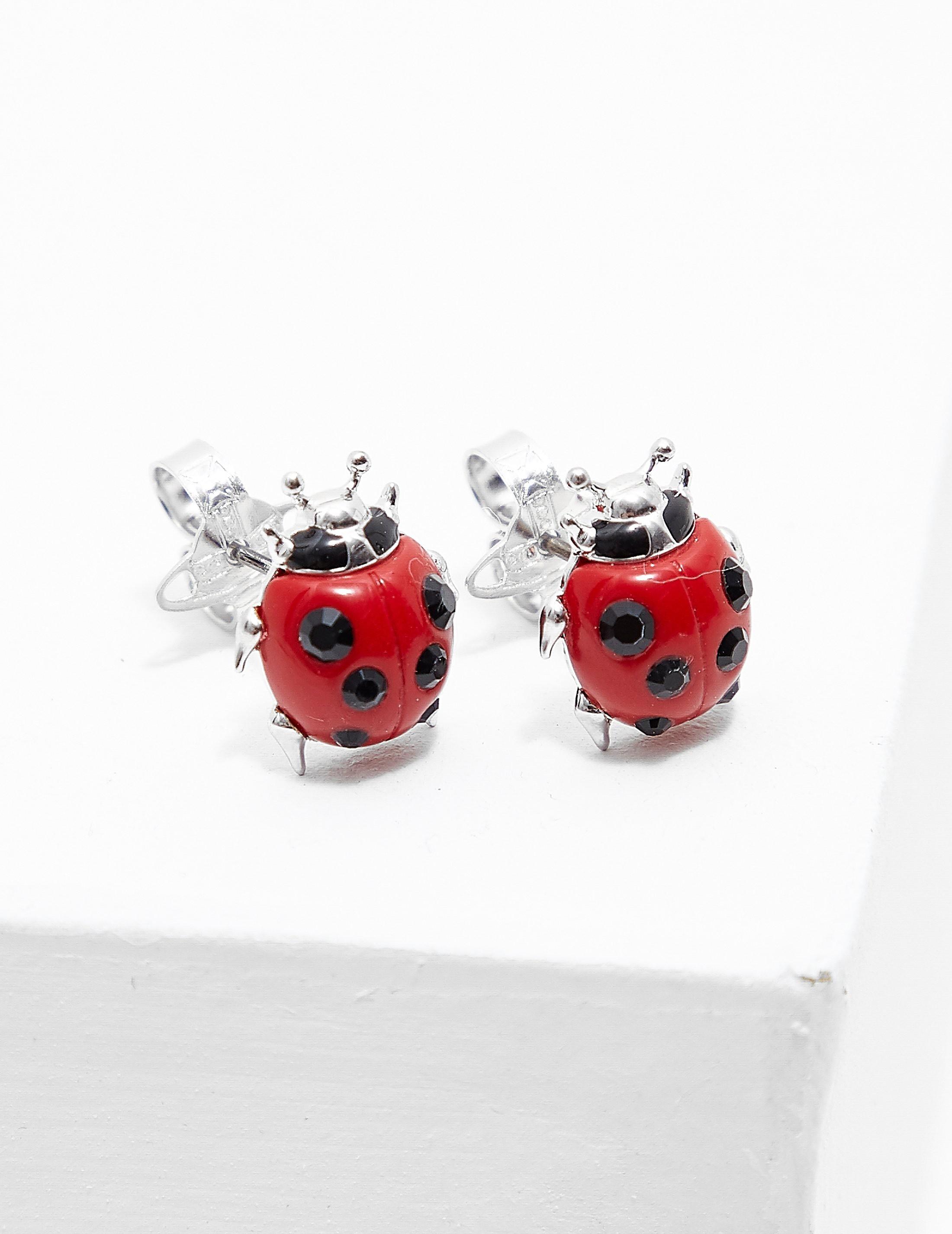 Vivienne Westwood Ladybird Earrings