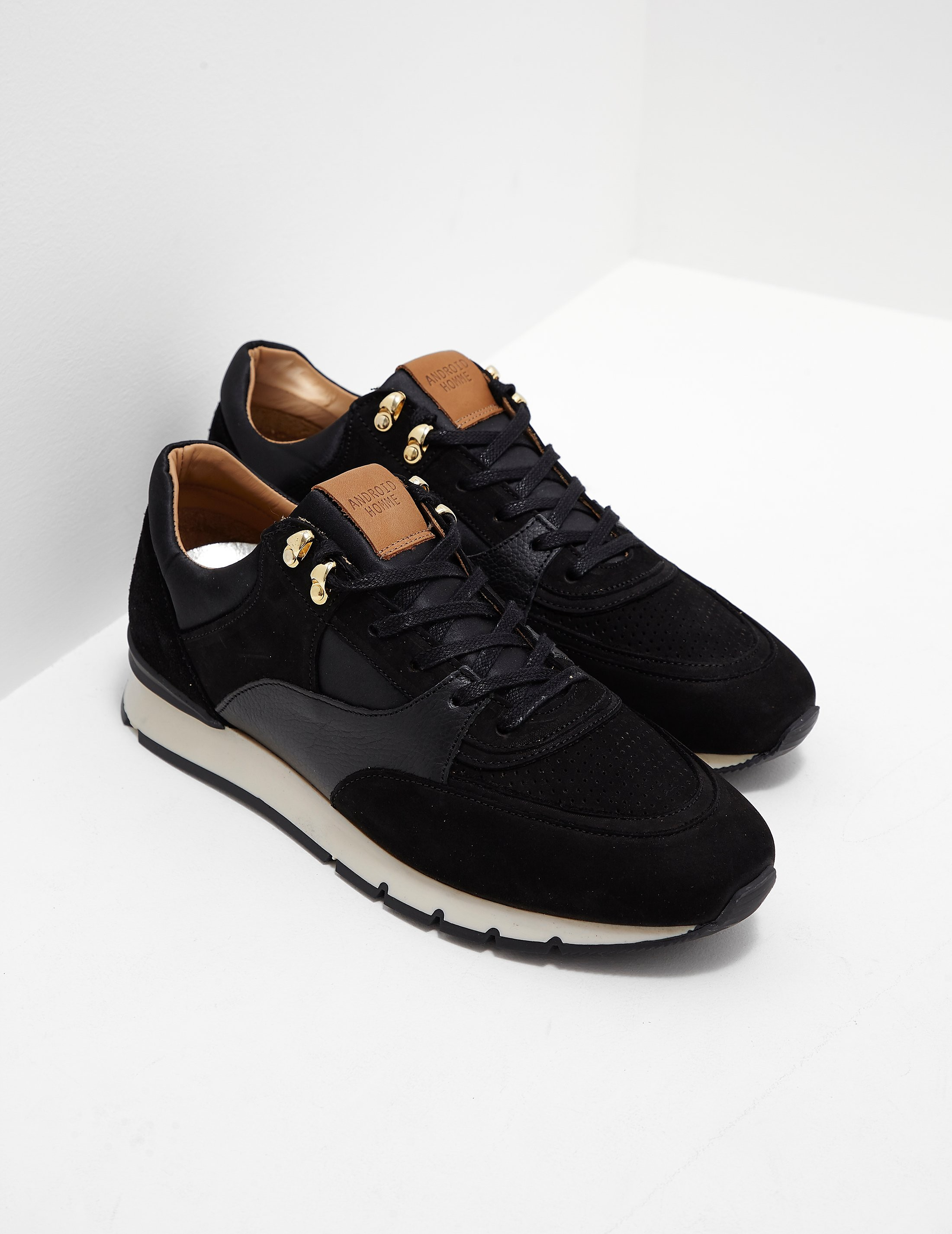 Android Homme Belten Satin Trainers