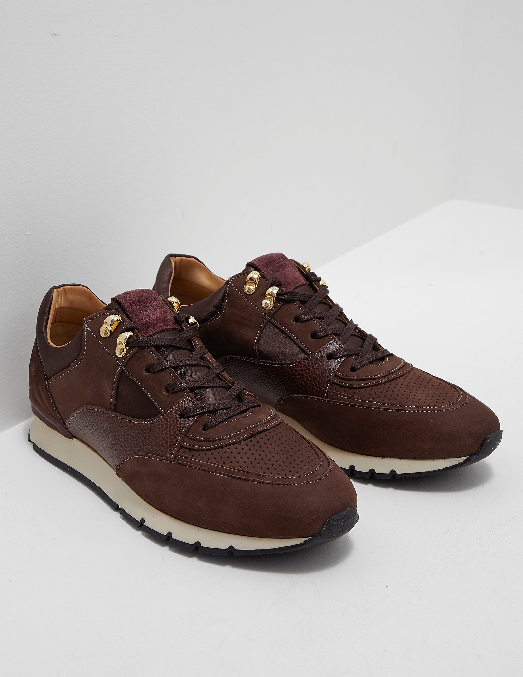 Android Homme Belter Satin Trainers