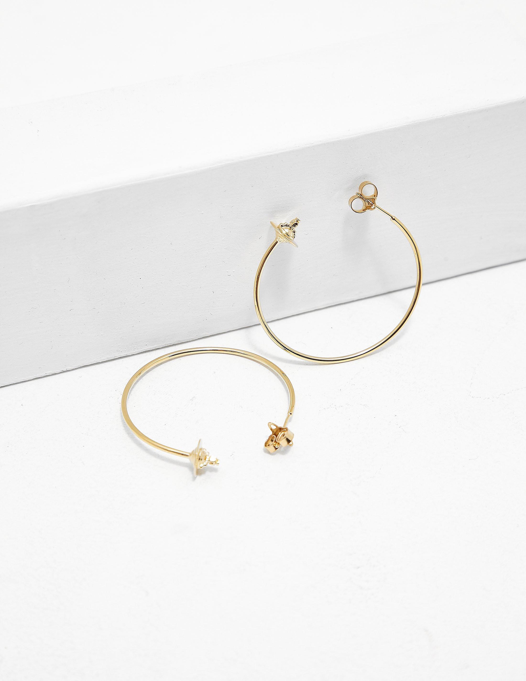 Vivienne Westwood Rosemary Hoop Earrings