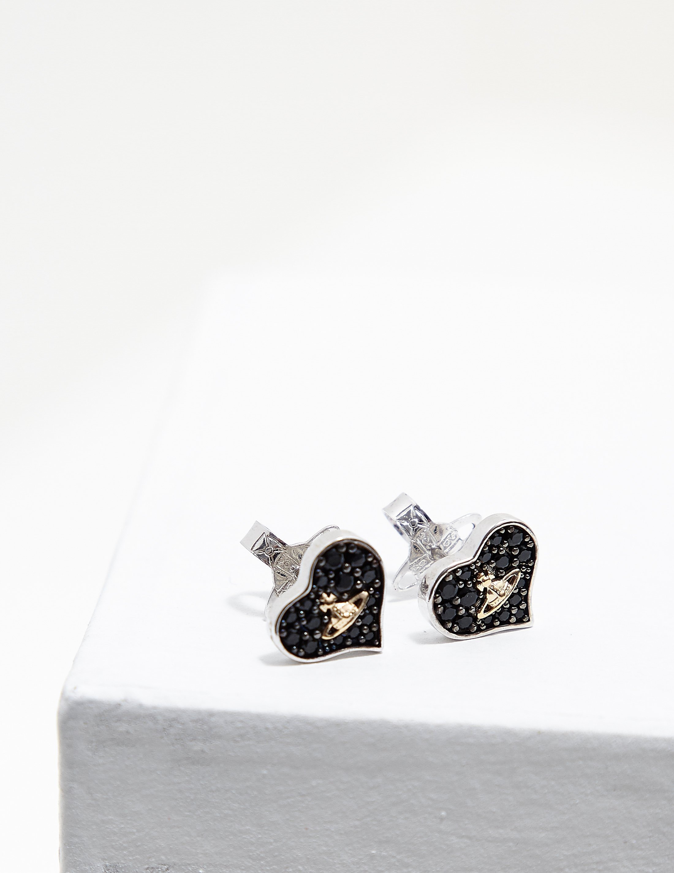 Vivienne Westwood Freya Heart Earrings