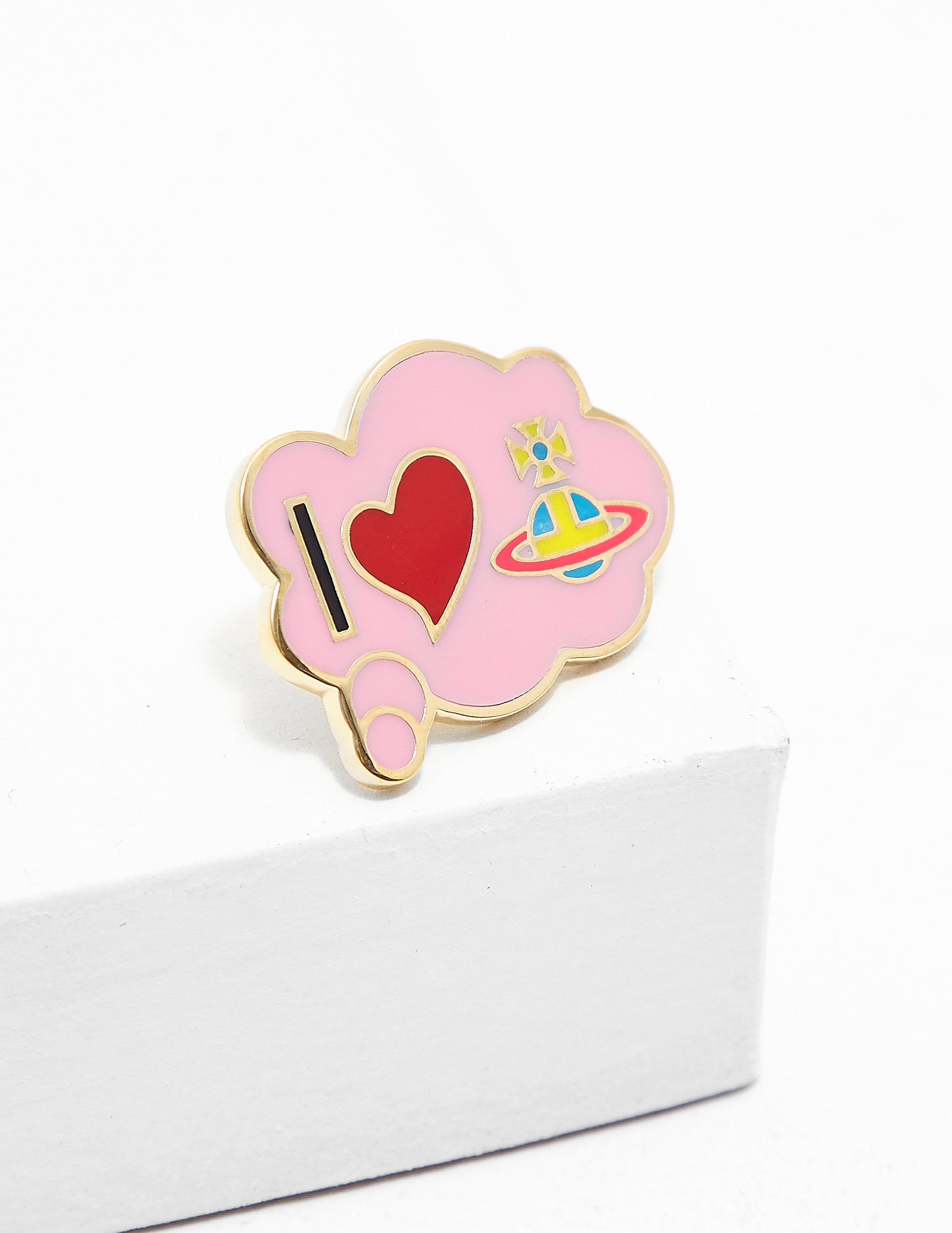 Vivienne Westwood Heart Pin
