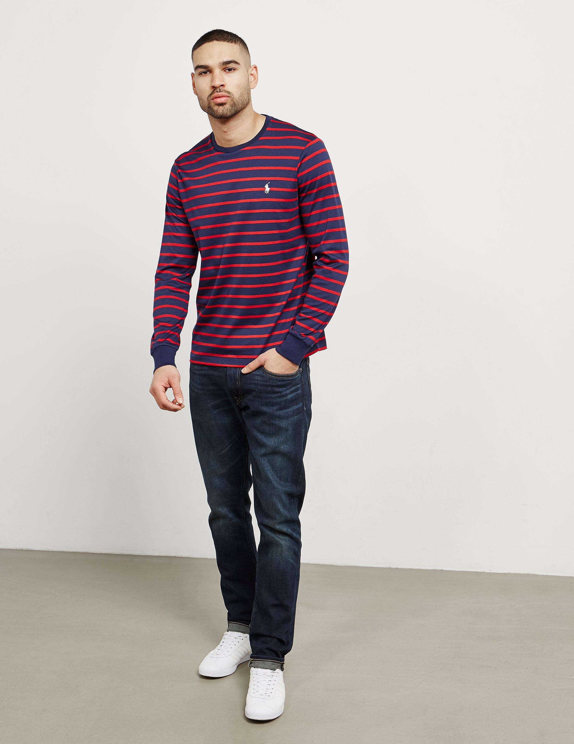 Polo Ralph Lauren Stripe Long Sleeve T-Shirt