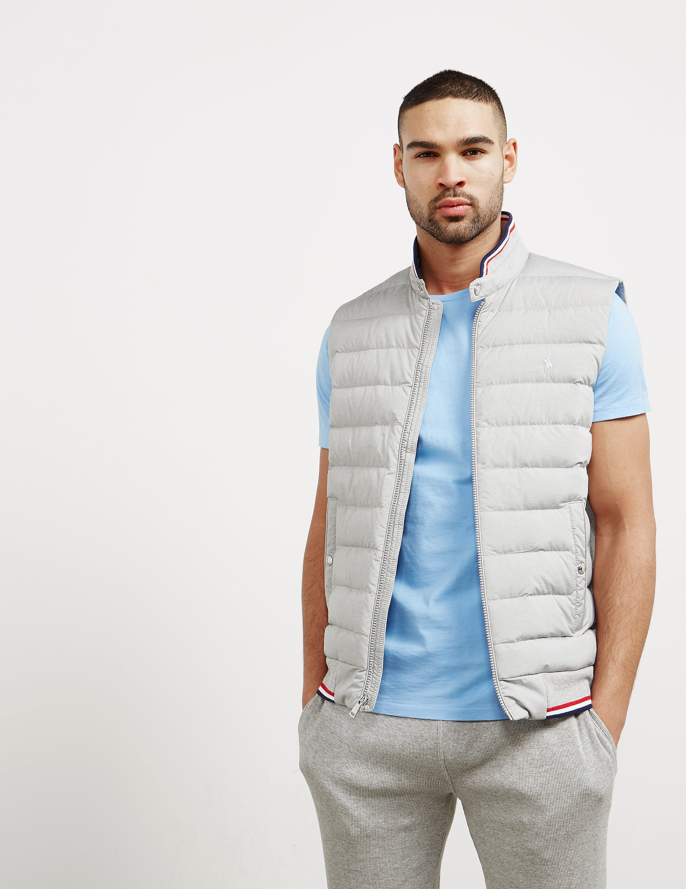 Polo Ralph Lauren Double Knit Technical Padded Gilet