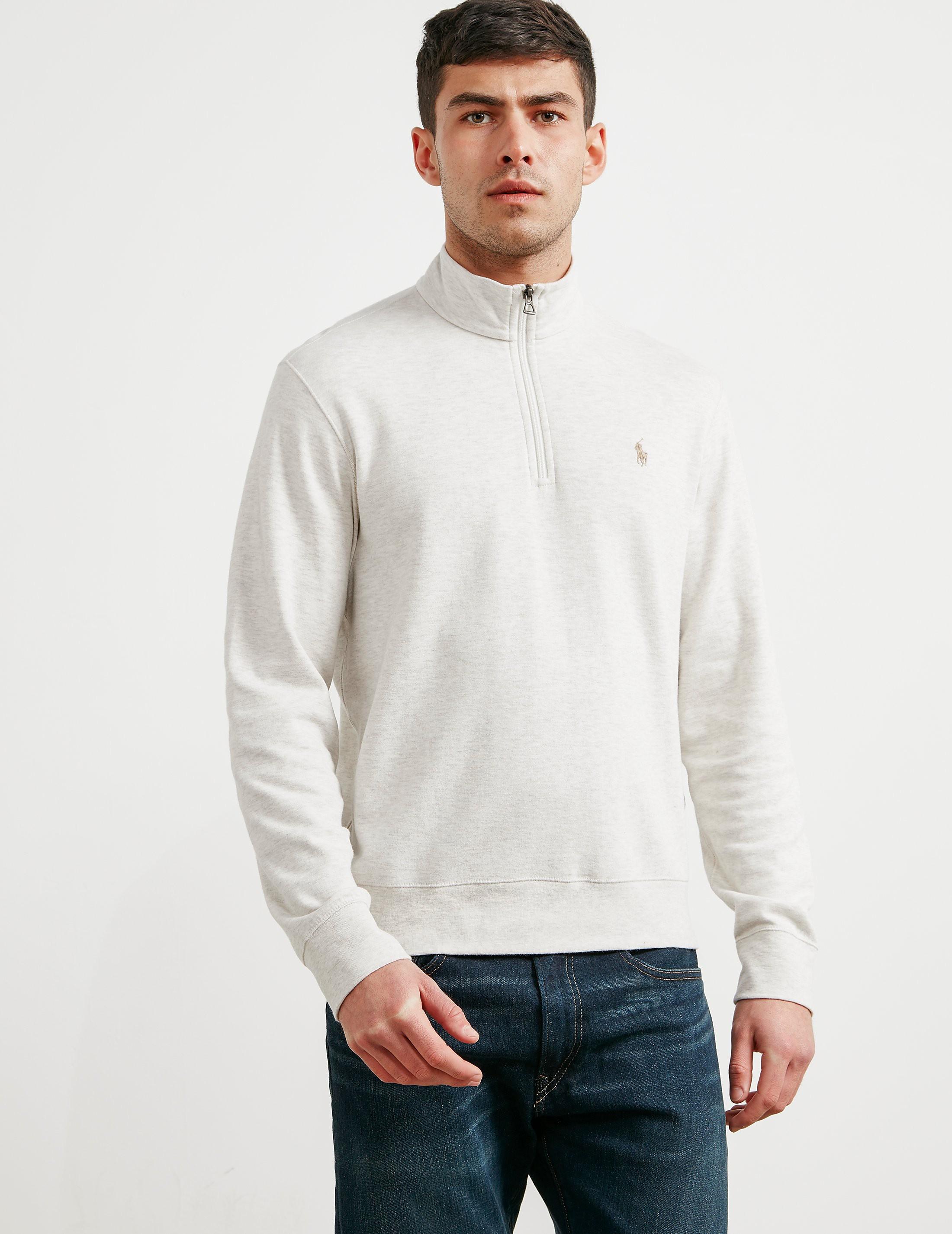 Polo Ralph Lauren Pima Cotton Half Zip Sweatshirt