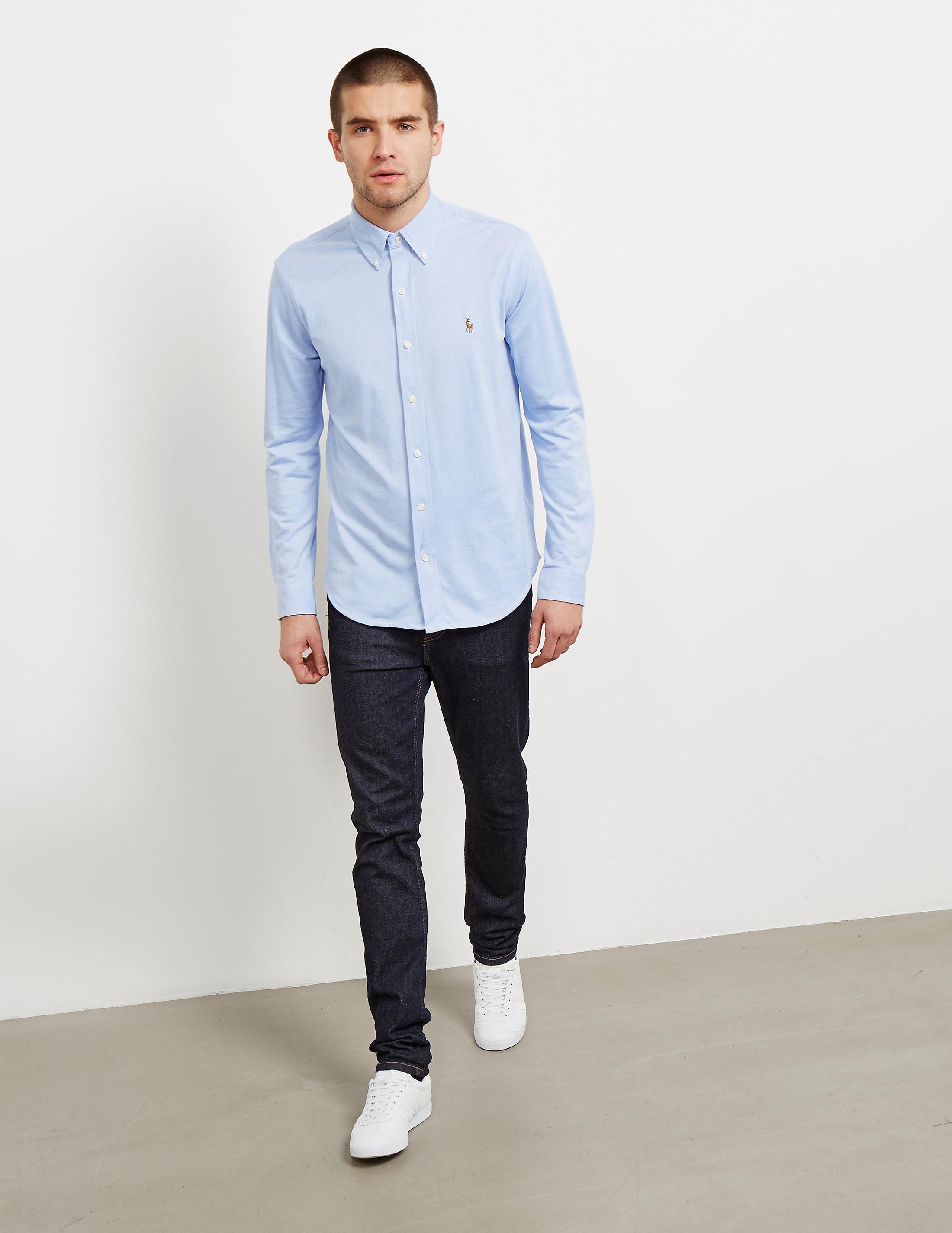 Polo Ralph Lauren Pique Long Sleeve Shirt