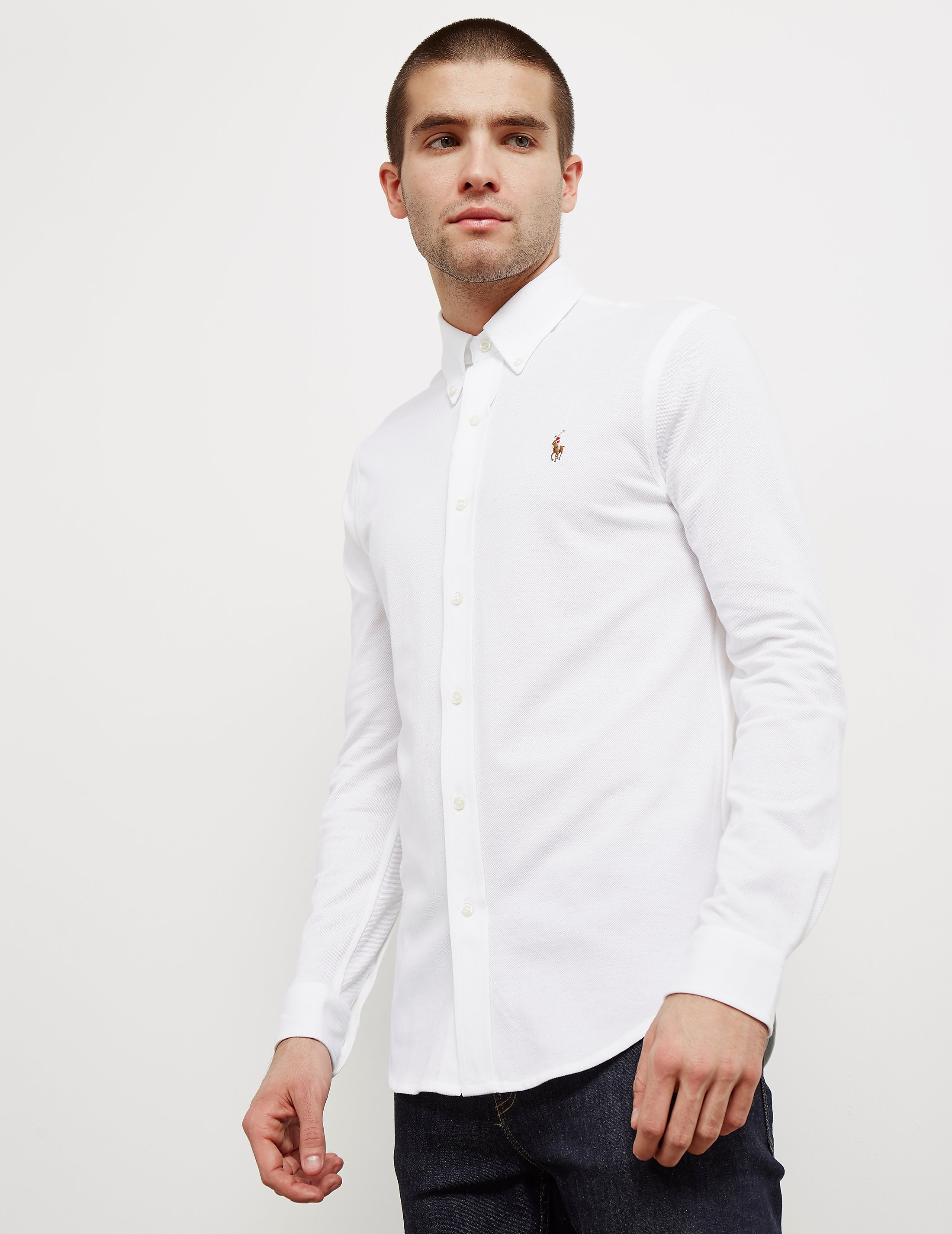 Polo Ralph Lauren Pique Long Sleeve Shirt