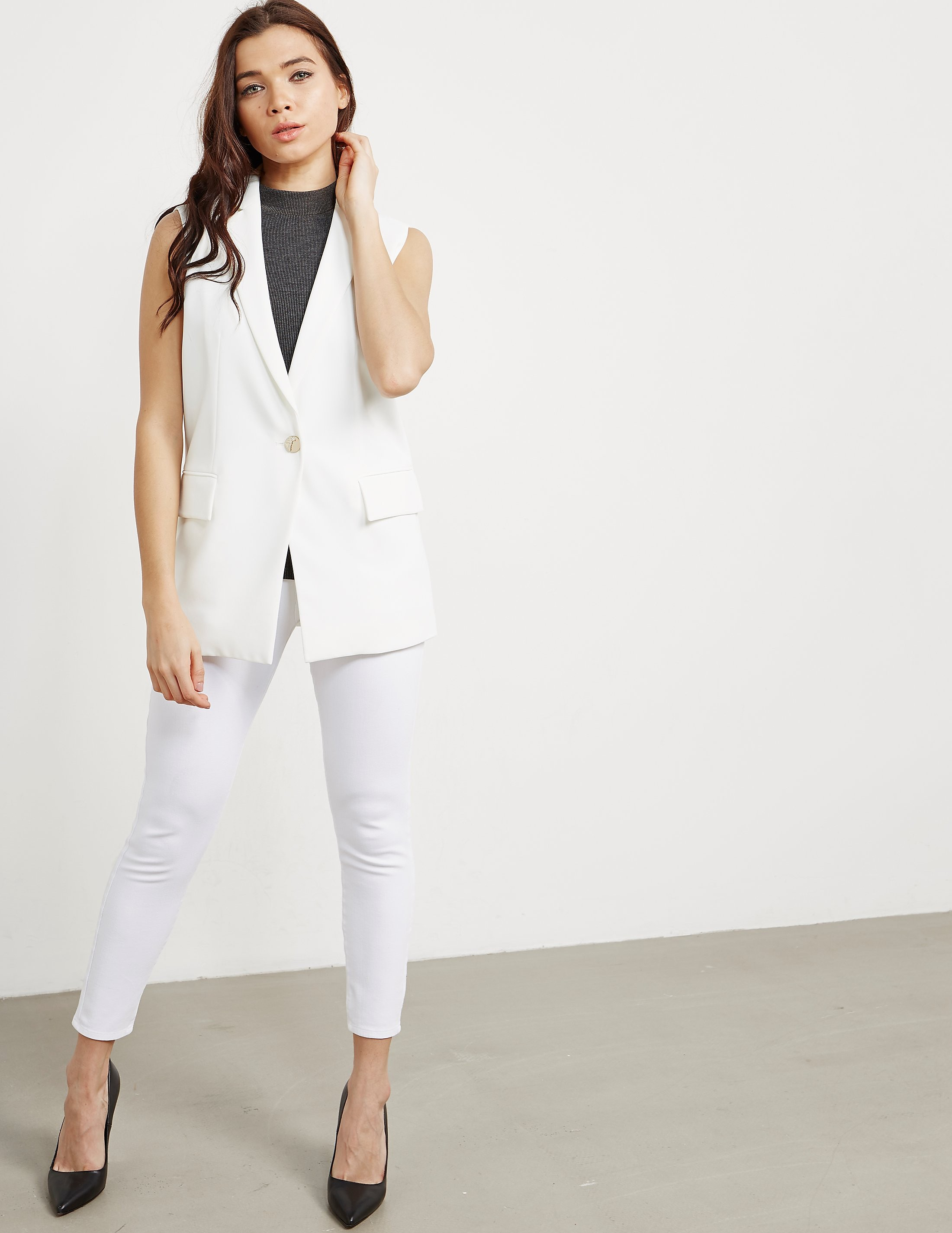 Versace Woven Blazer Jacket