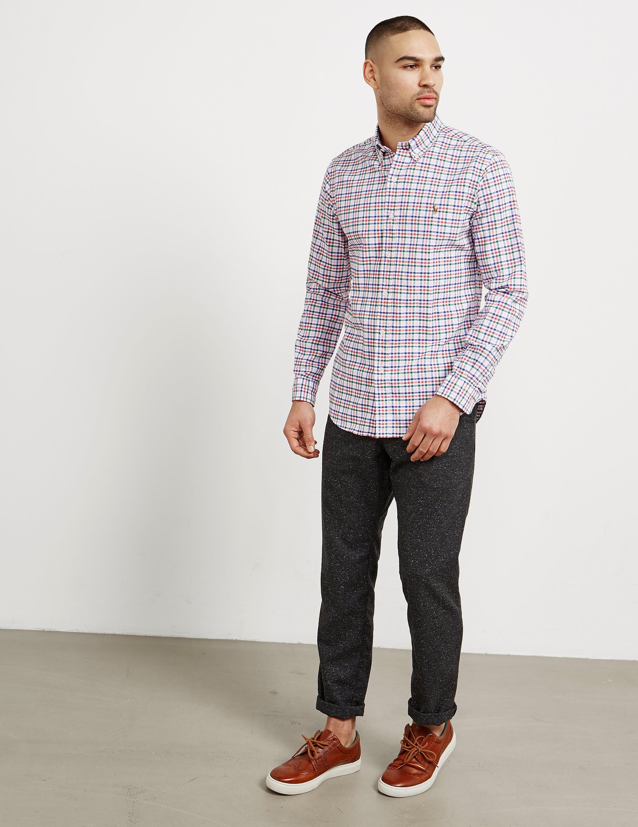 Polo Ralph Lauren Tartan Long Sleeve Shirt