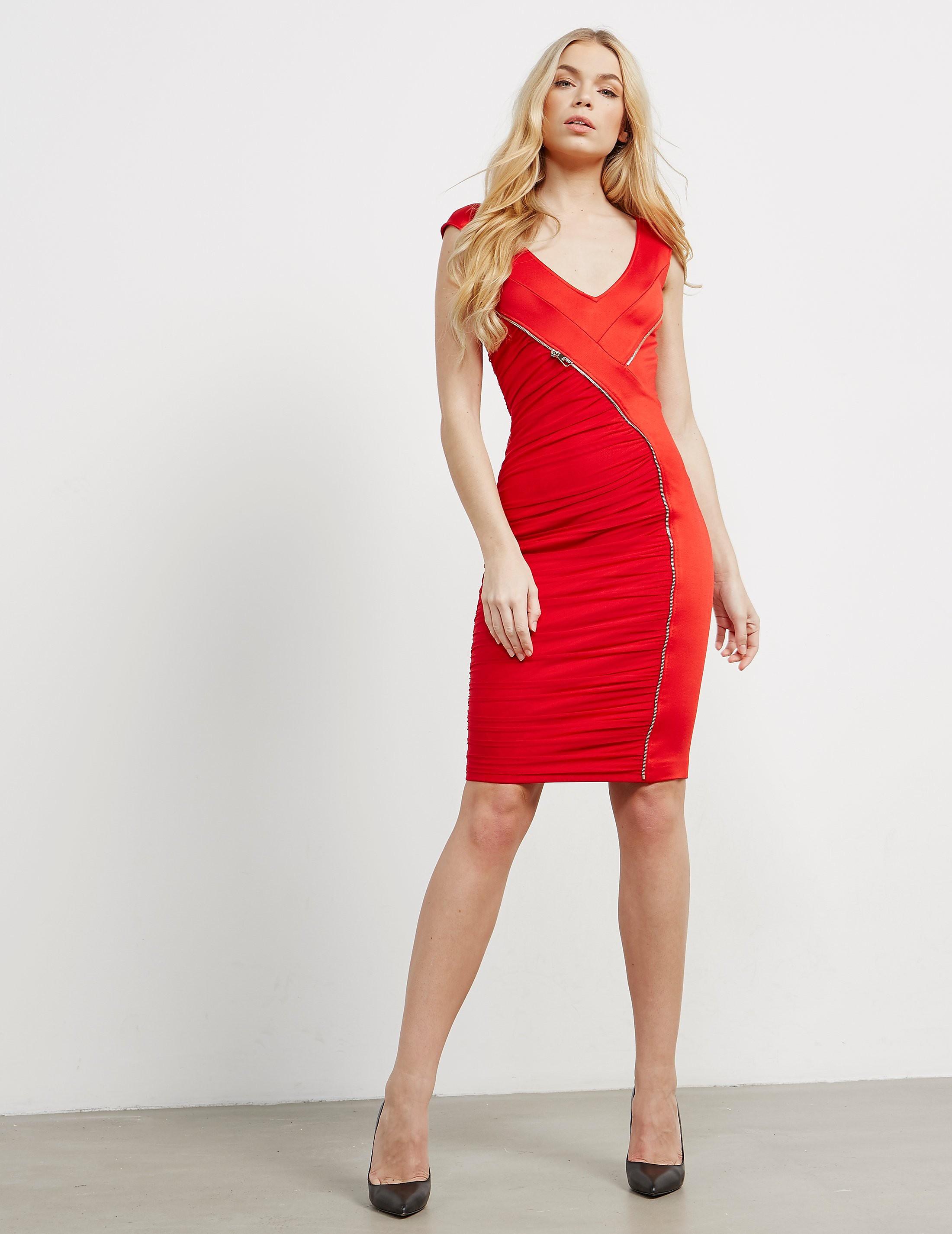 Versace Ruffle Dress