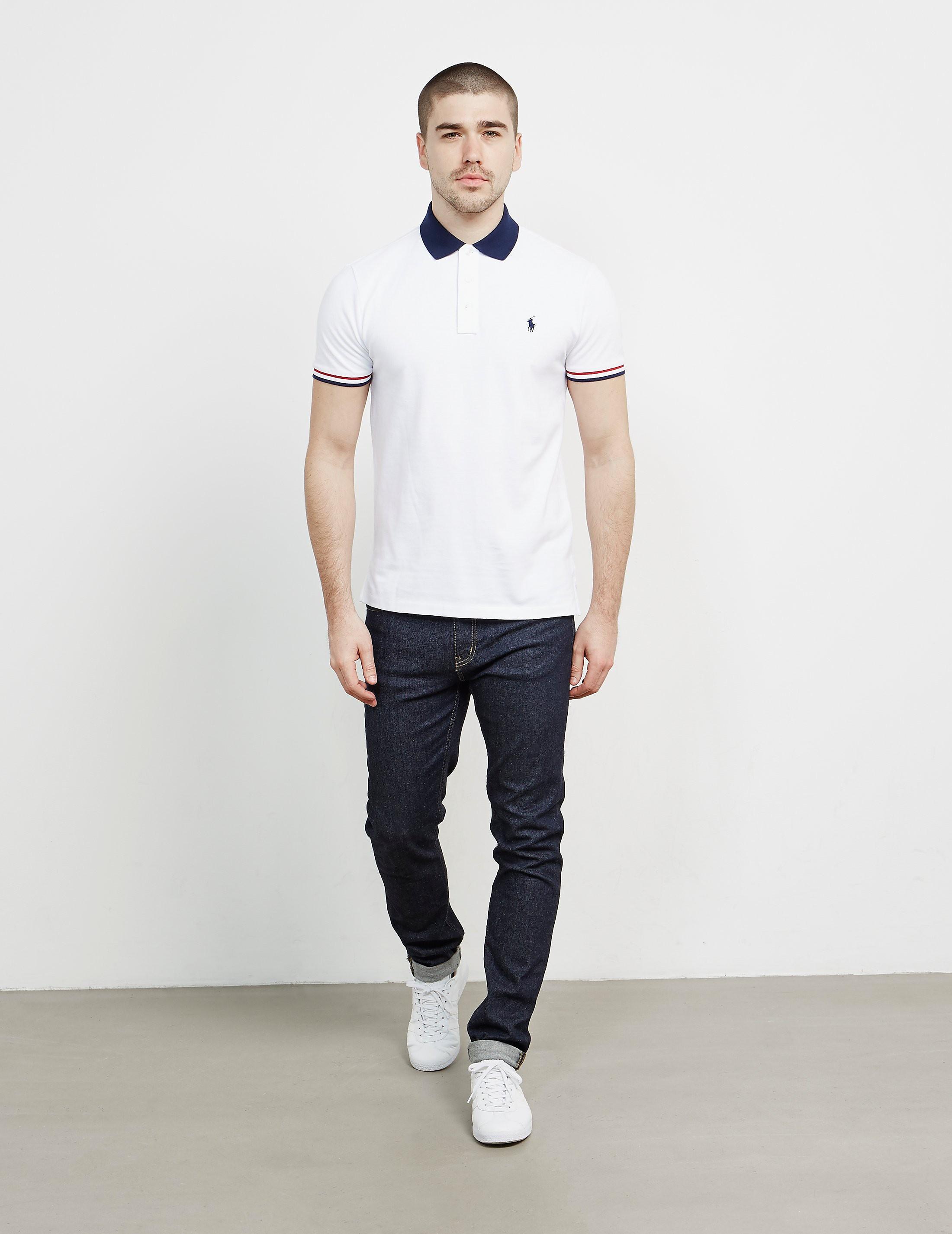 Polo Ralph Lauren Tip Block Short Sleeve Polo Shirt
