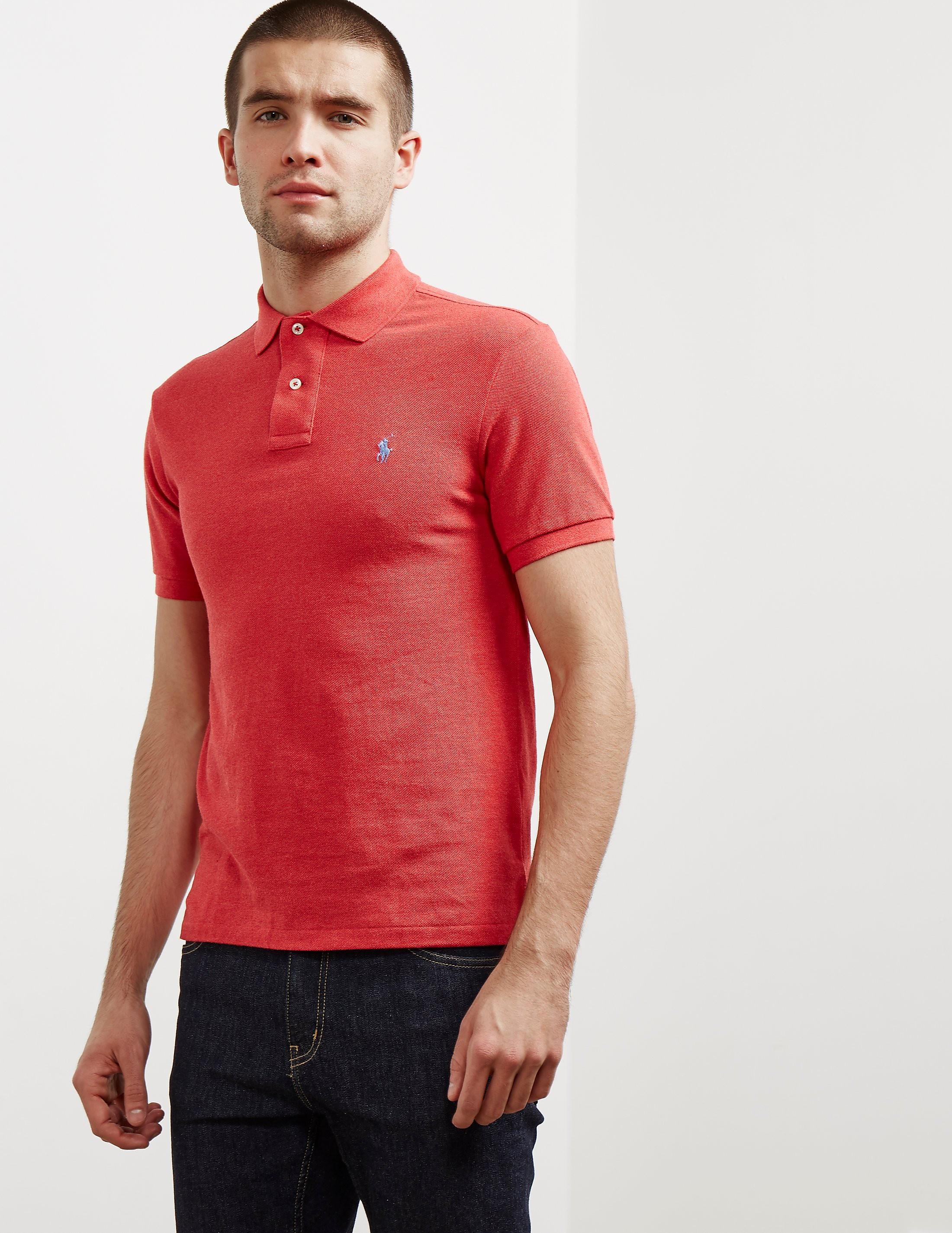 Polo Ralph Lauren Basic Short Sleeve Polo Shirt