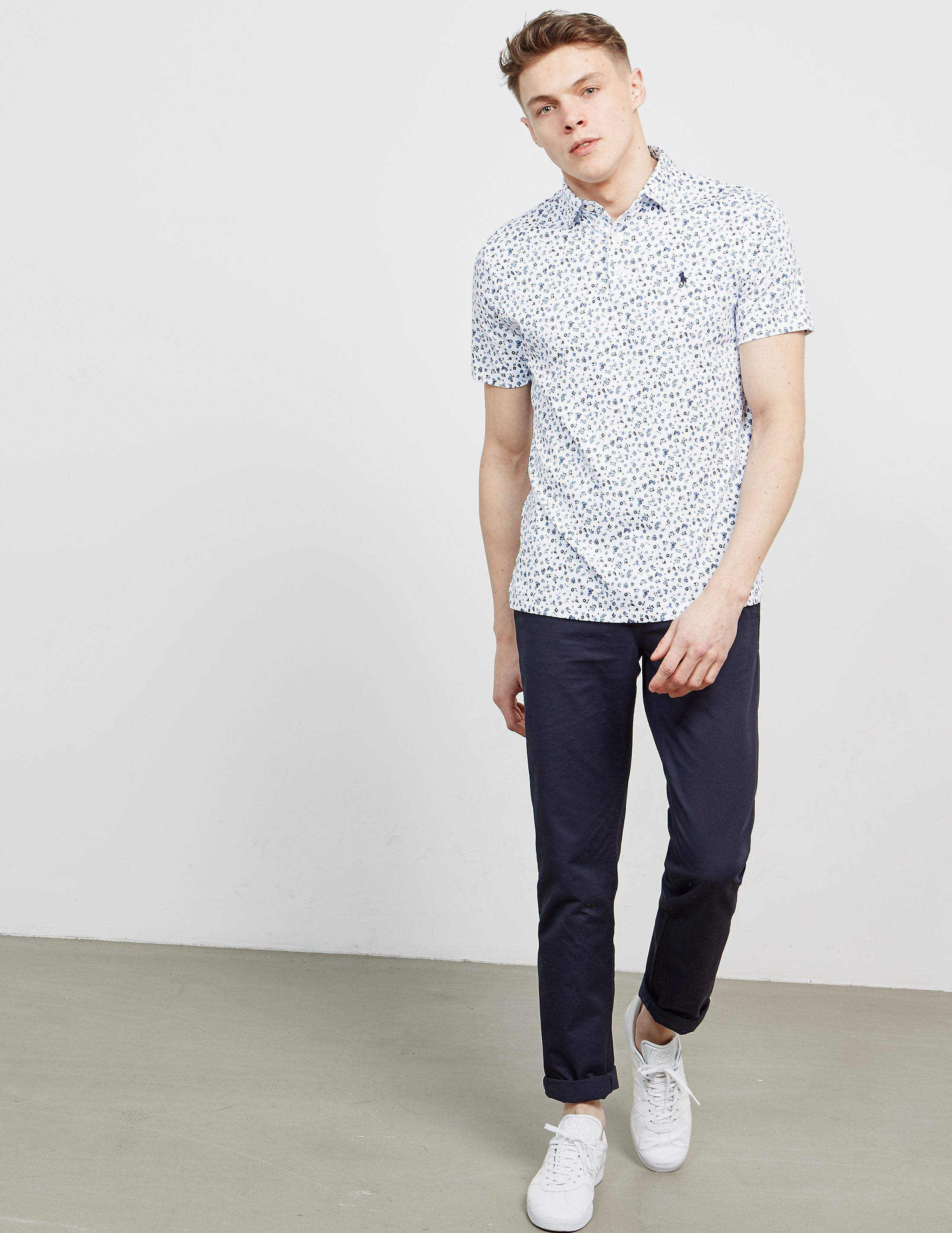Polo Ralph Lauren Floral Short Sleeve Shirt - Online Exclusive