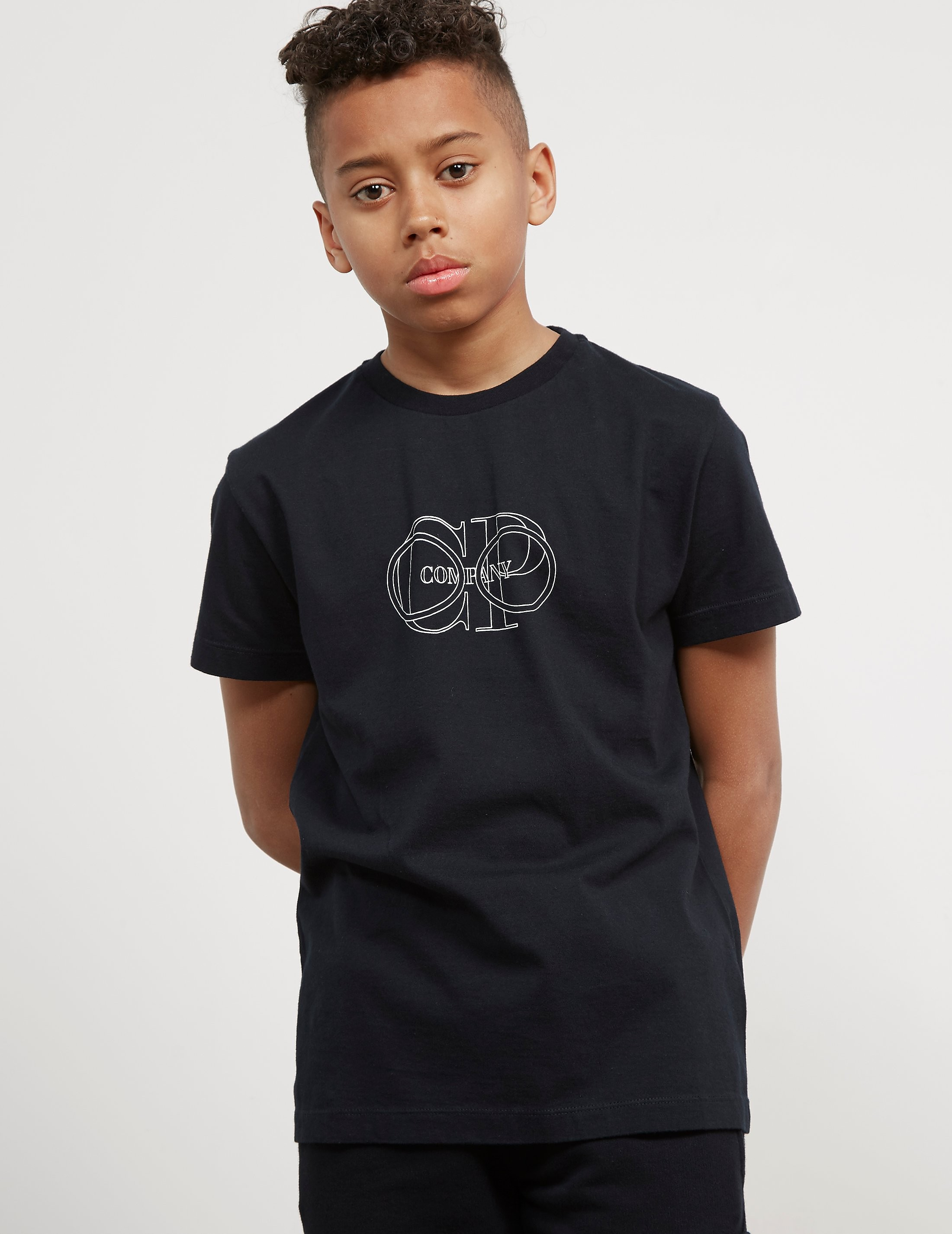 CP Company Goggles Logo Short Sleeve T-Shirt