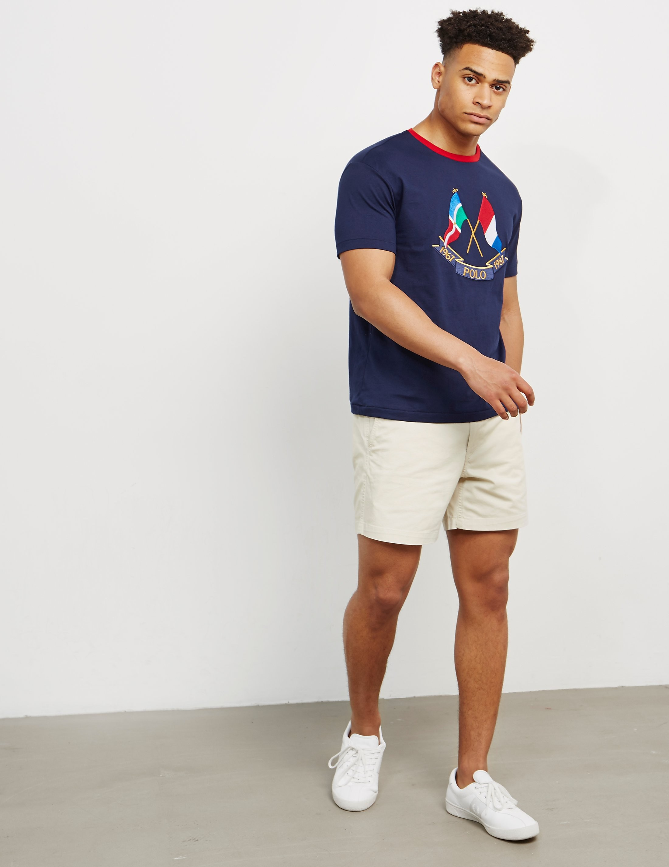 Polo Ralph Lauren X Flag Short Sleeve T-Shirt
