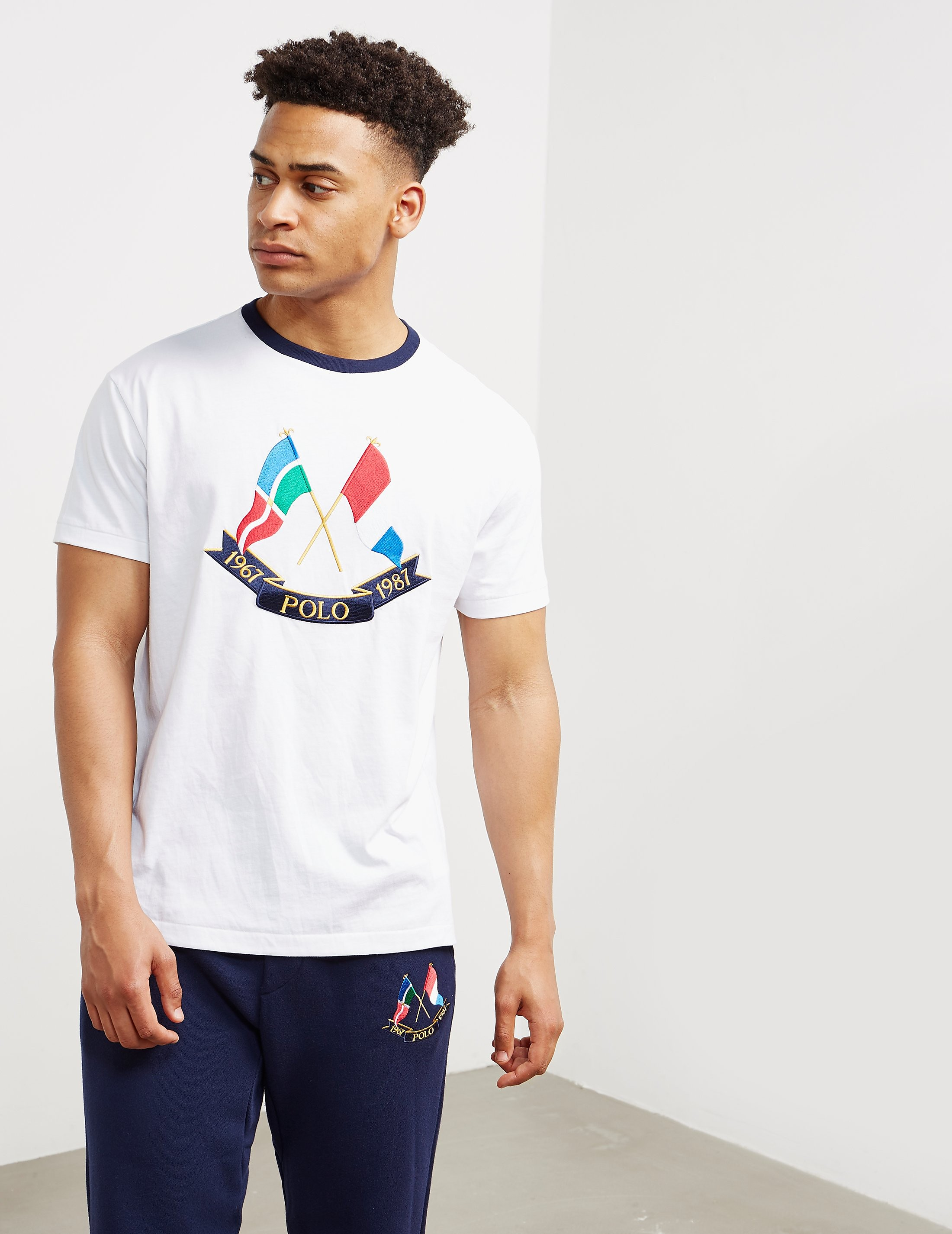 Polo Ralph Lauren CP-39 Flag Short Sleeve T-Shirt