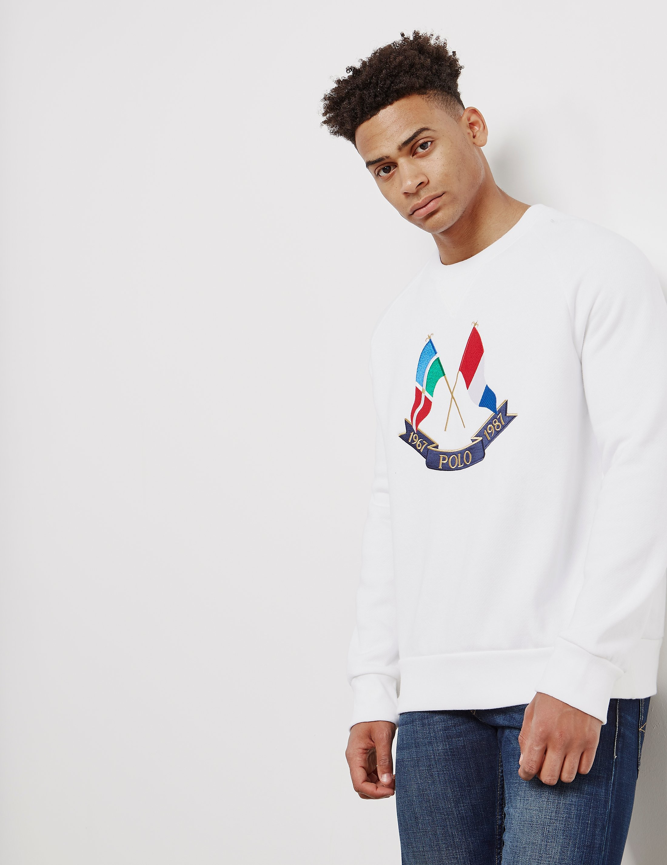 Polo Ralph Lauren CP-39 Embroidered Flag Sweatshirt