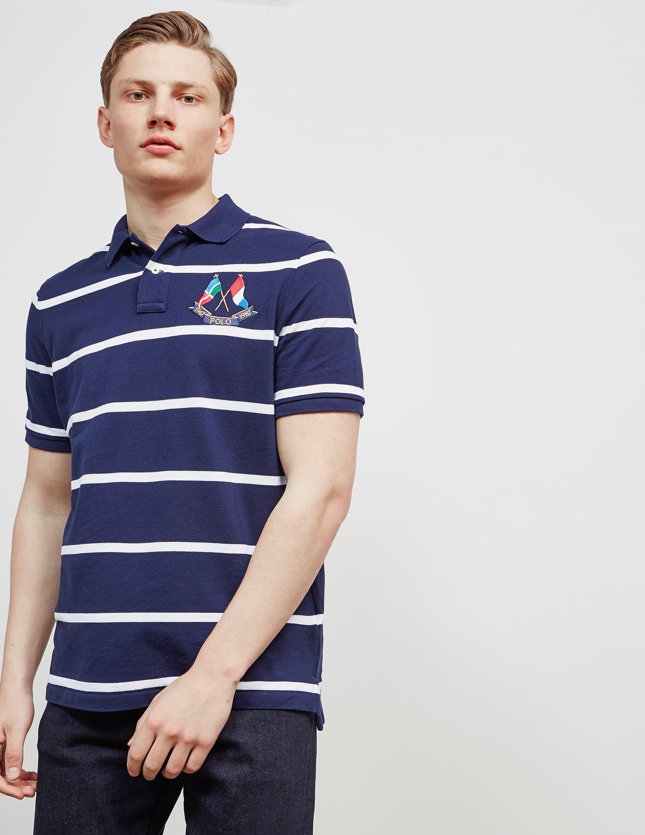 Polo Ralph Lauren CP-39 Flag Short Sleeve Polo Shirt