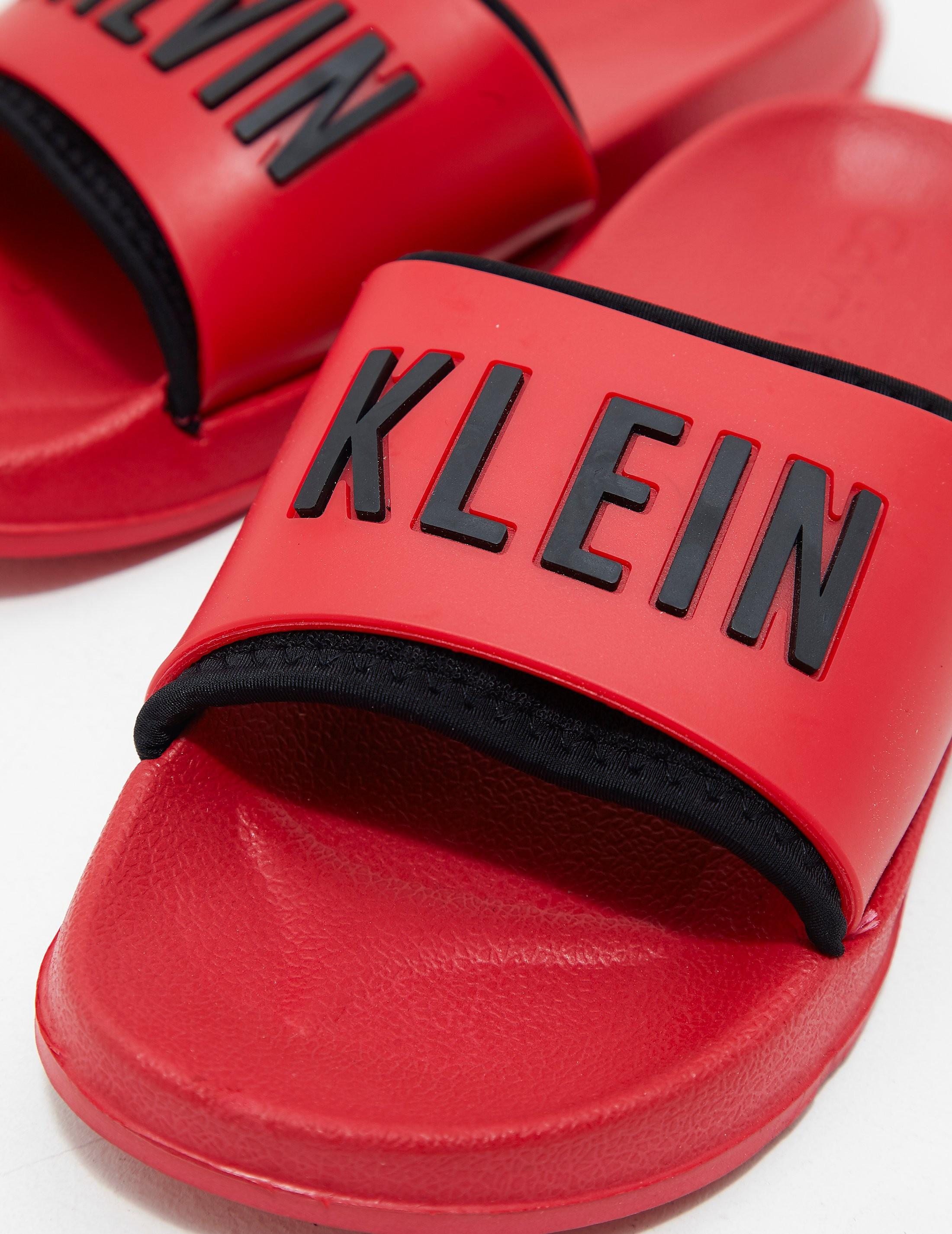 Calvin Klein Logo Slides