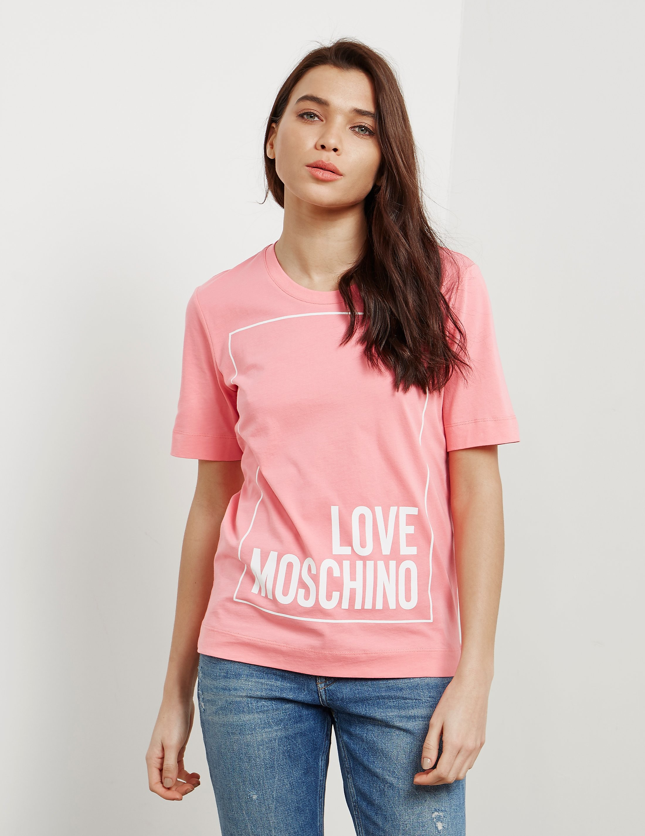 Love Moschino Square Short Sleeve T-Shirt