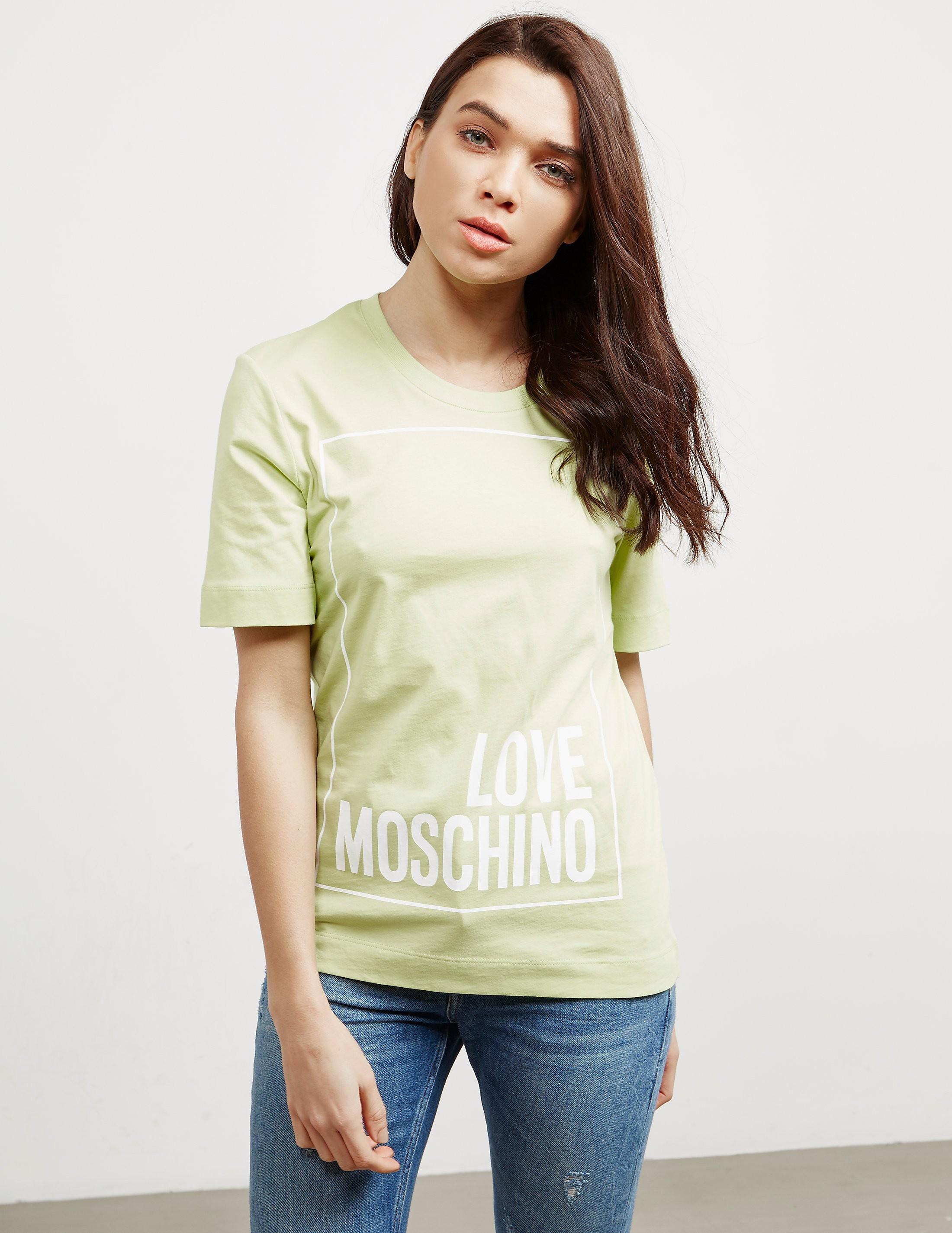 Love Moschino Square Short Sleeve T-Shirt