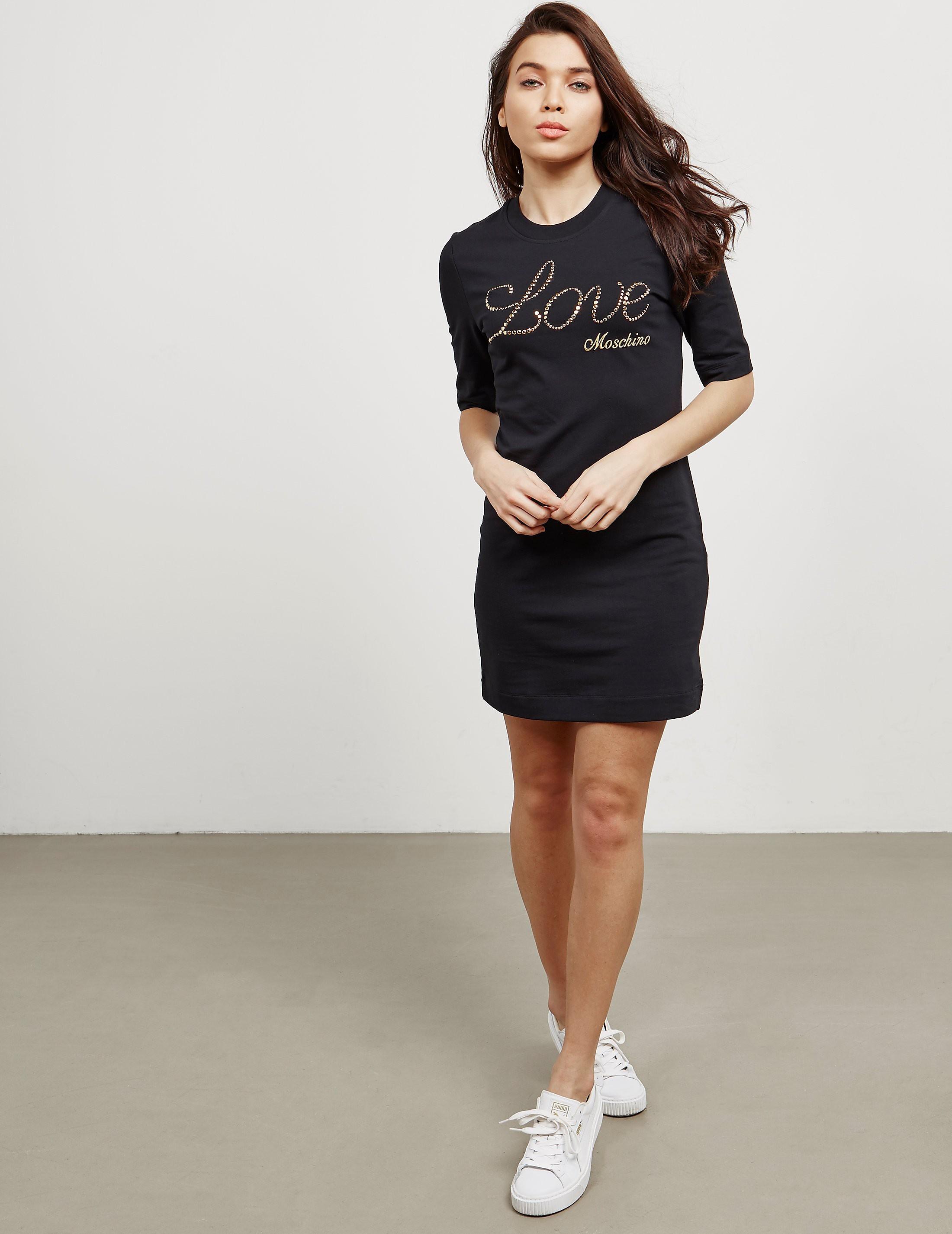Love Moschino Bling T-Shirt Dress