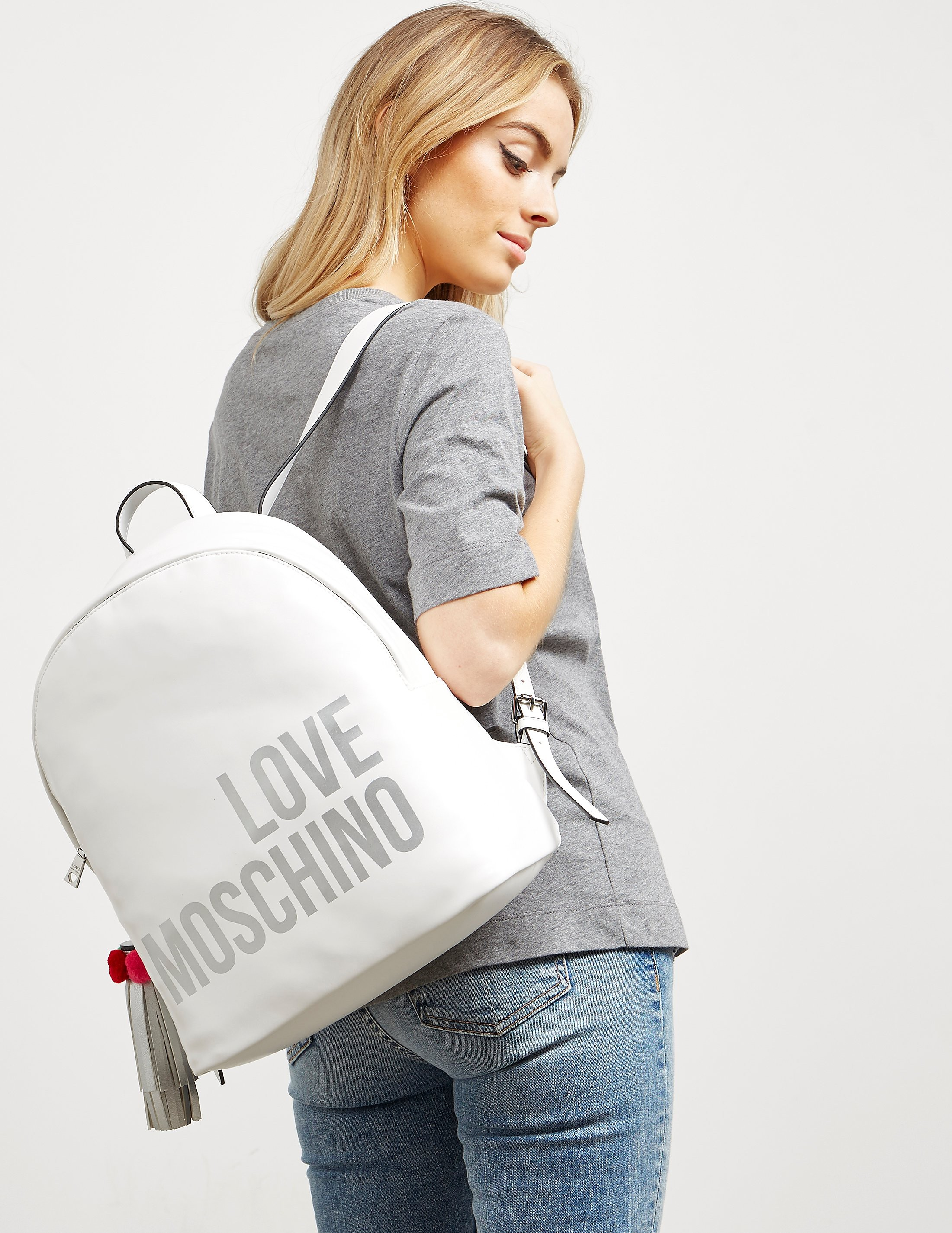 Love Moschino Tassle Backpack - Online Exclusive