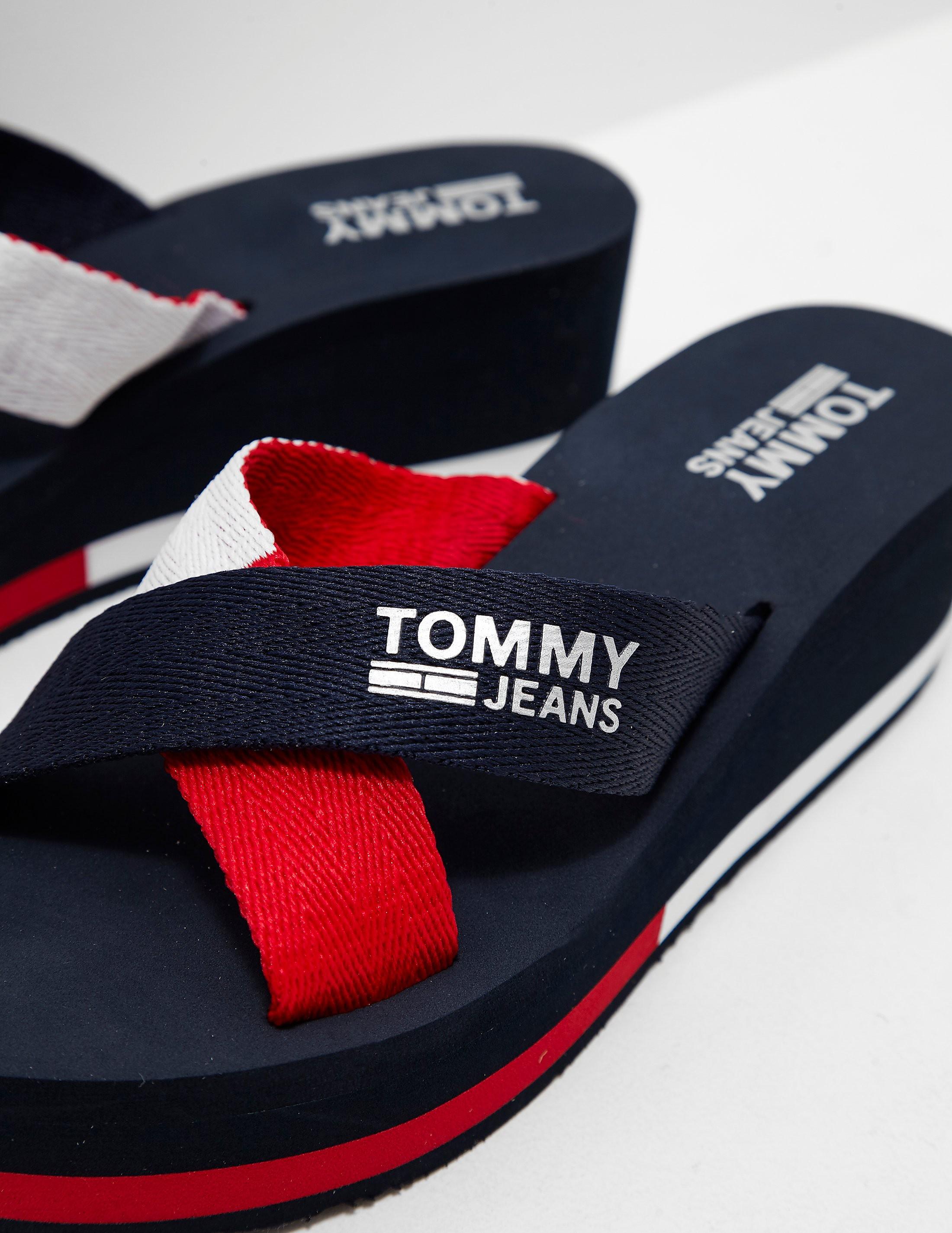 Tommy Hilfiger Sport Wedge Flip Flops