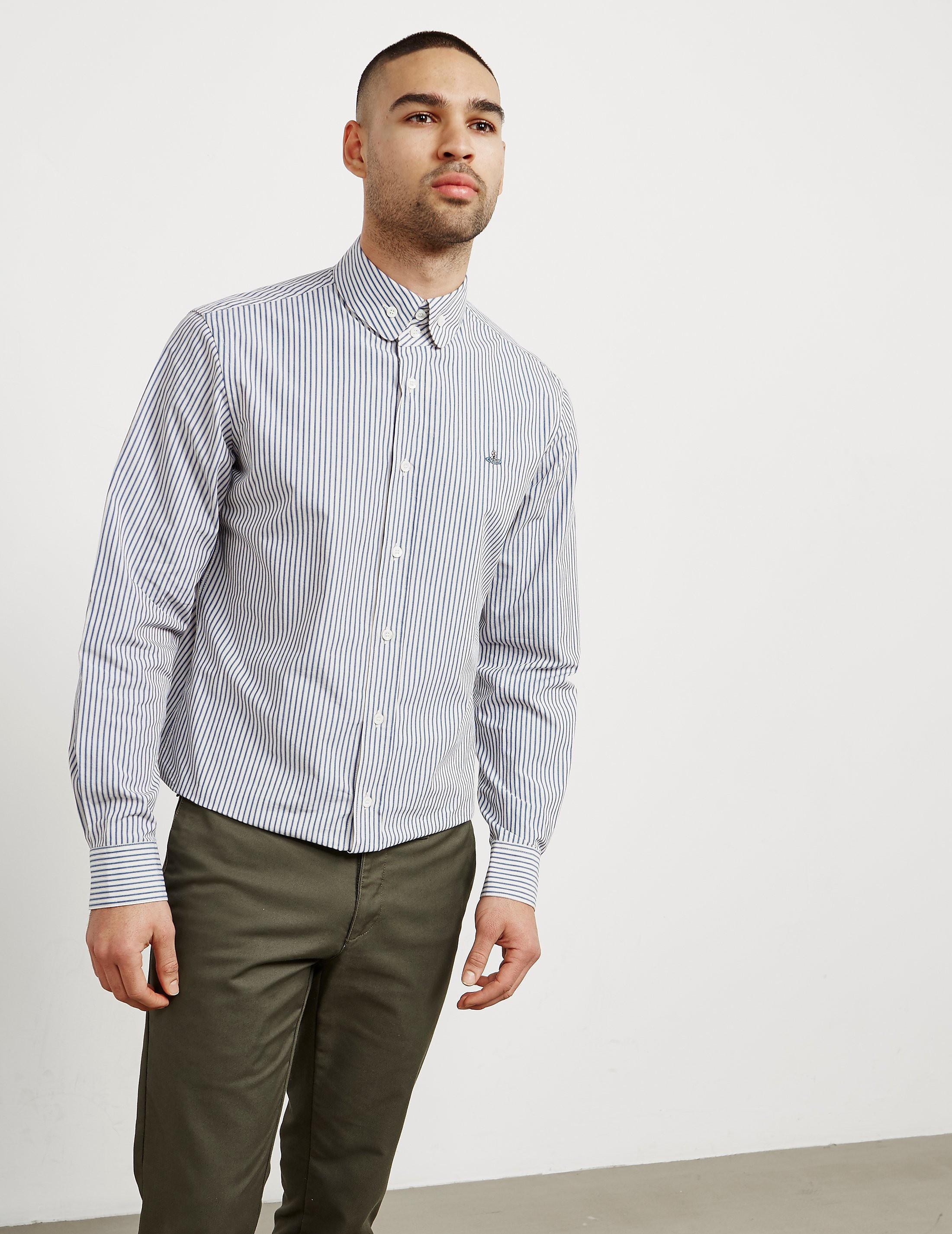 Vivienne Westwood Stripe Long Sleeve Shirt