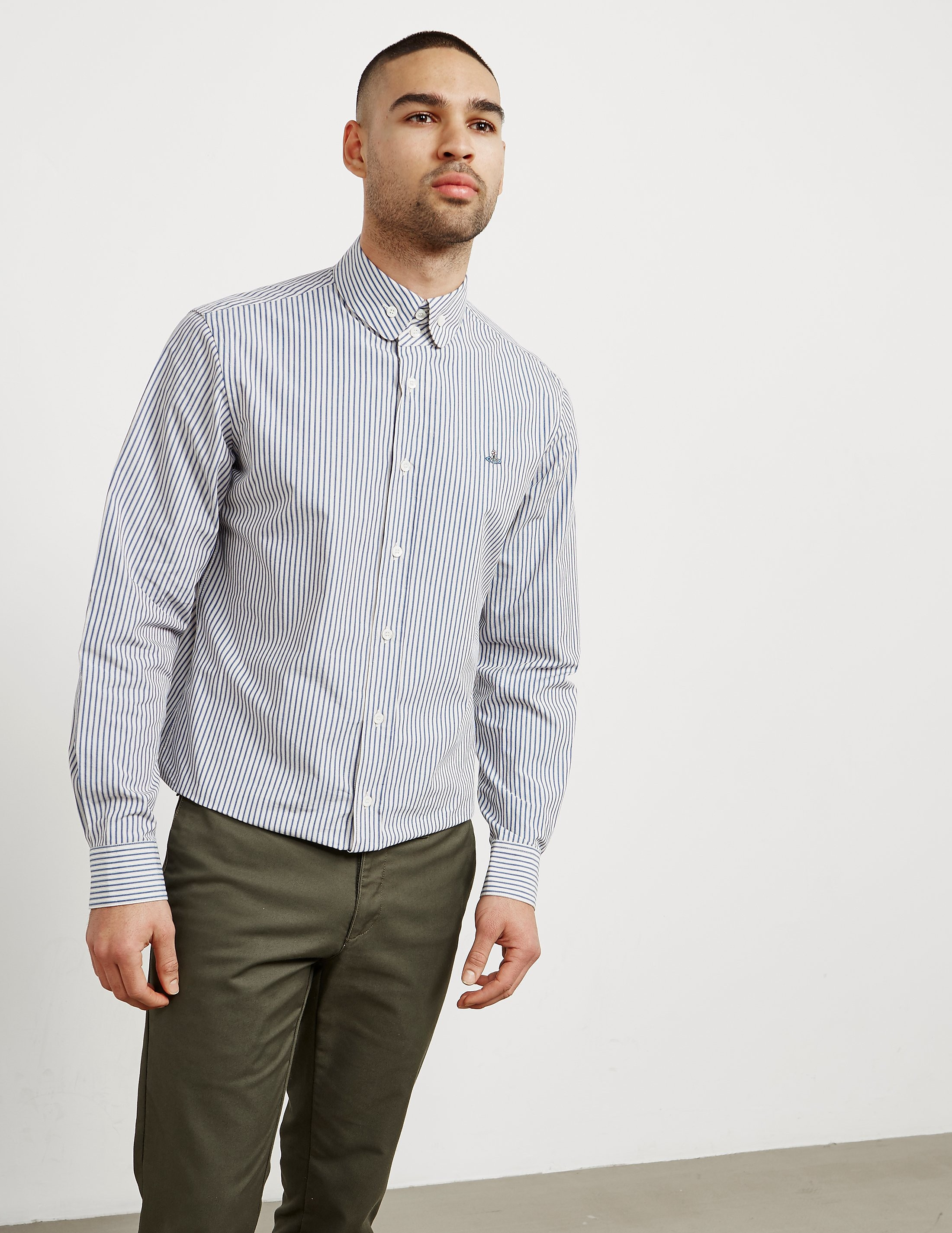 Vivienne Westwood Stripe Long Sleeve Shirt - Online Exclusive