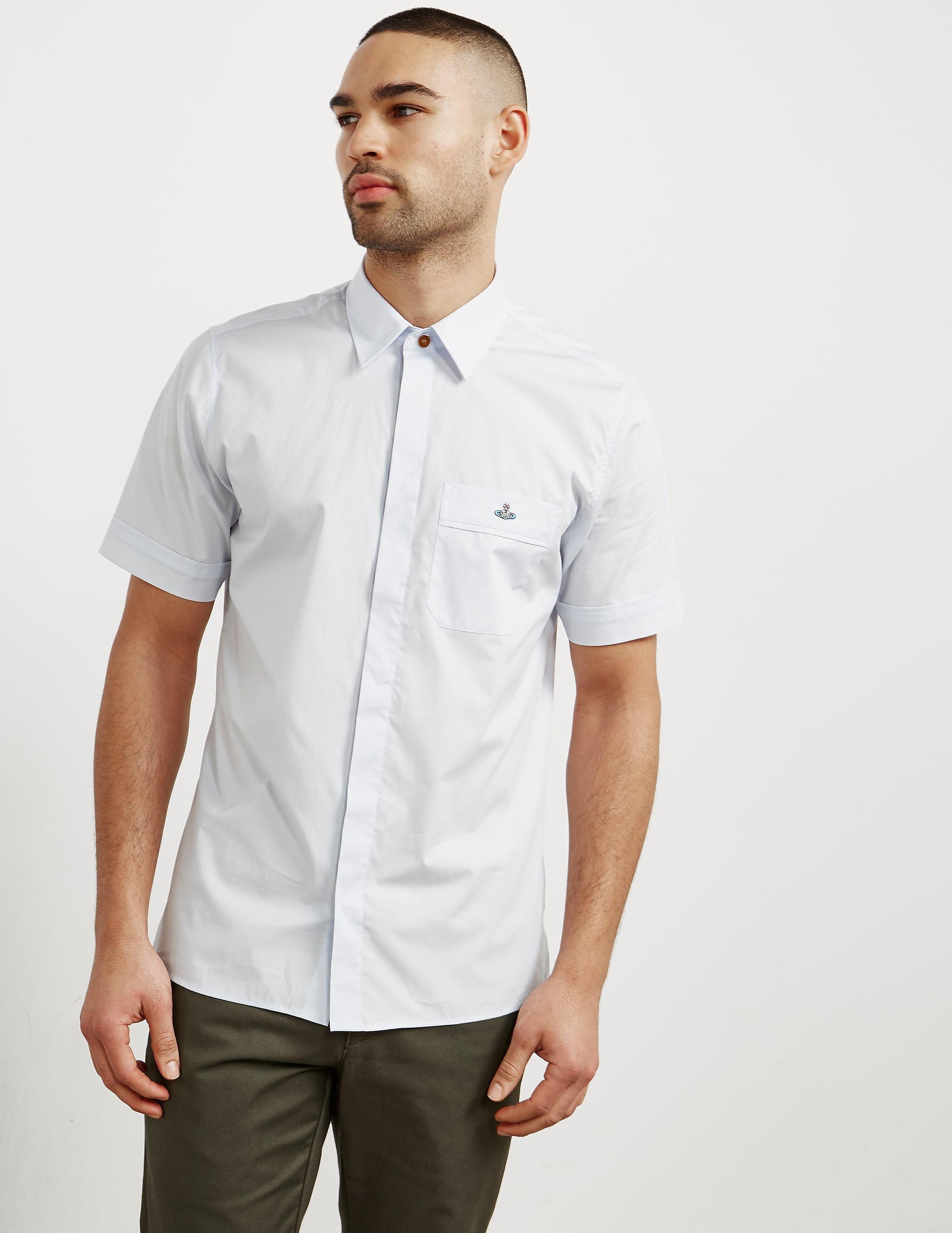 Vivienne Westwood Tonal Orb Short Sleeve Shirt