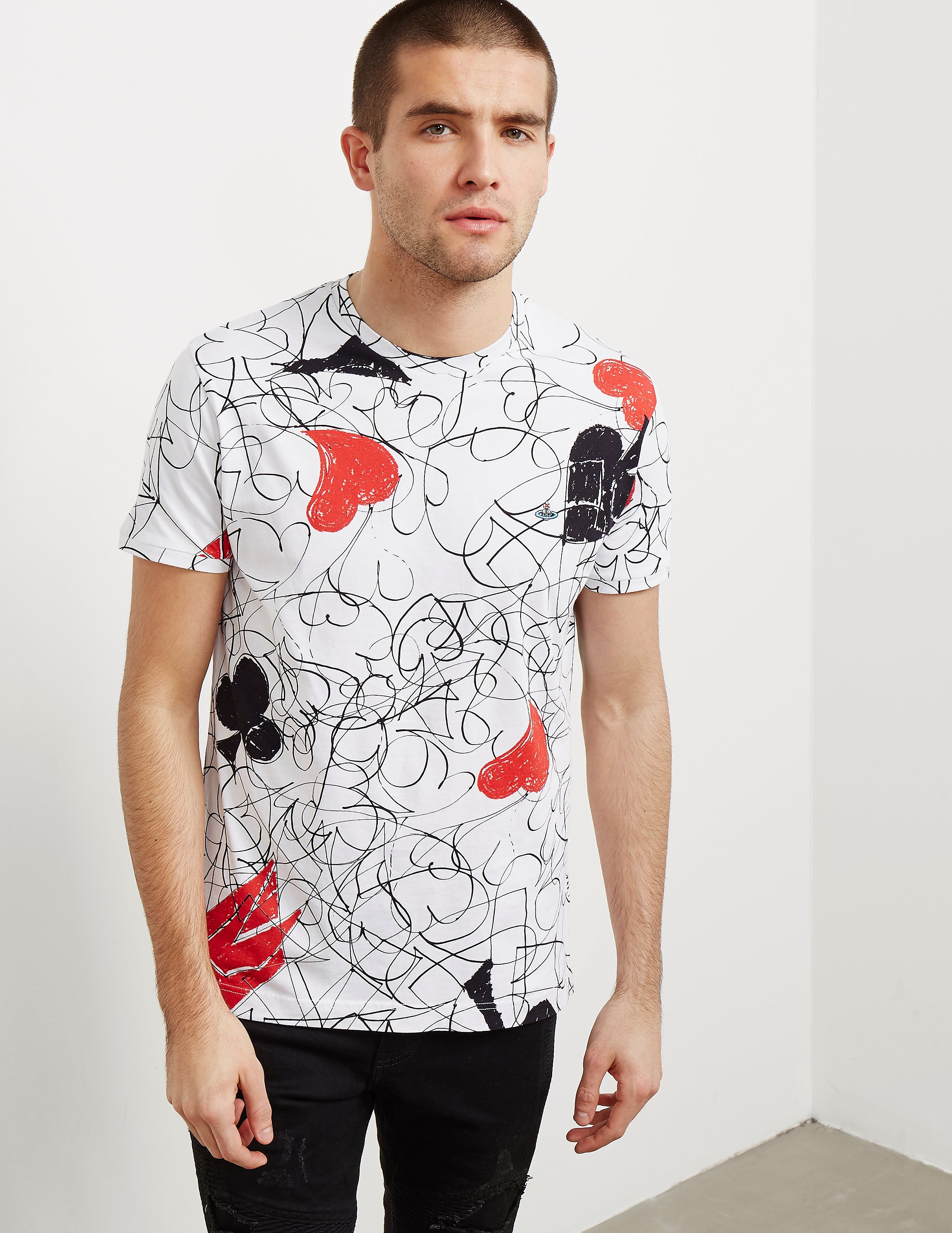 Vivienne Westwood Sketch Short Sleeve T-Shirt